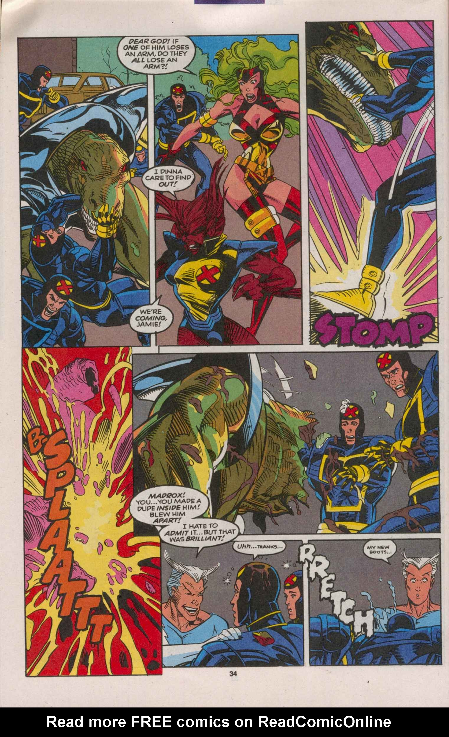 Read online X-Factor (1986) comic -  Issue # _ Annual 8 - 31