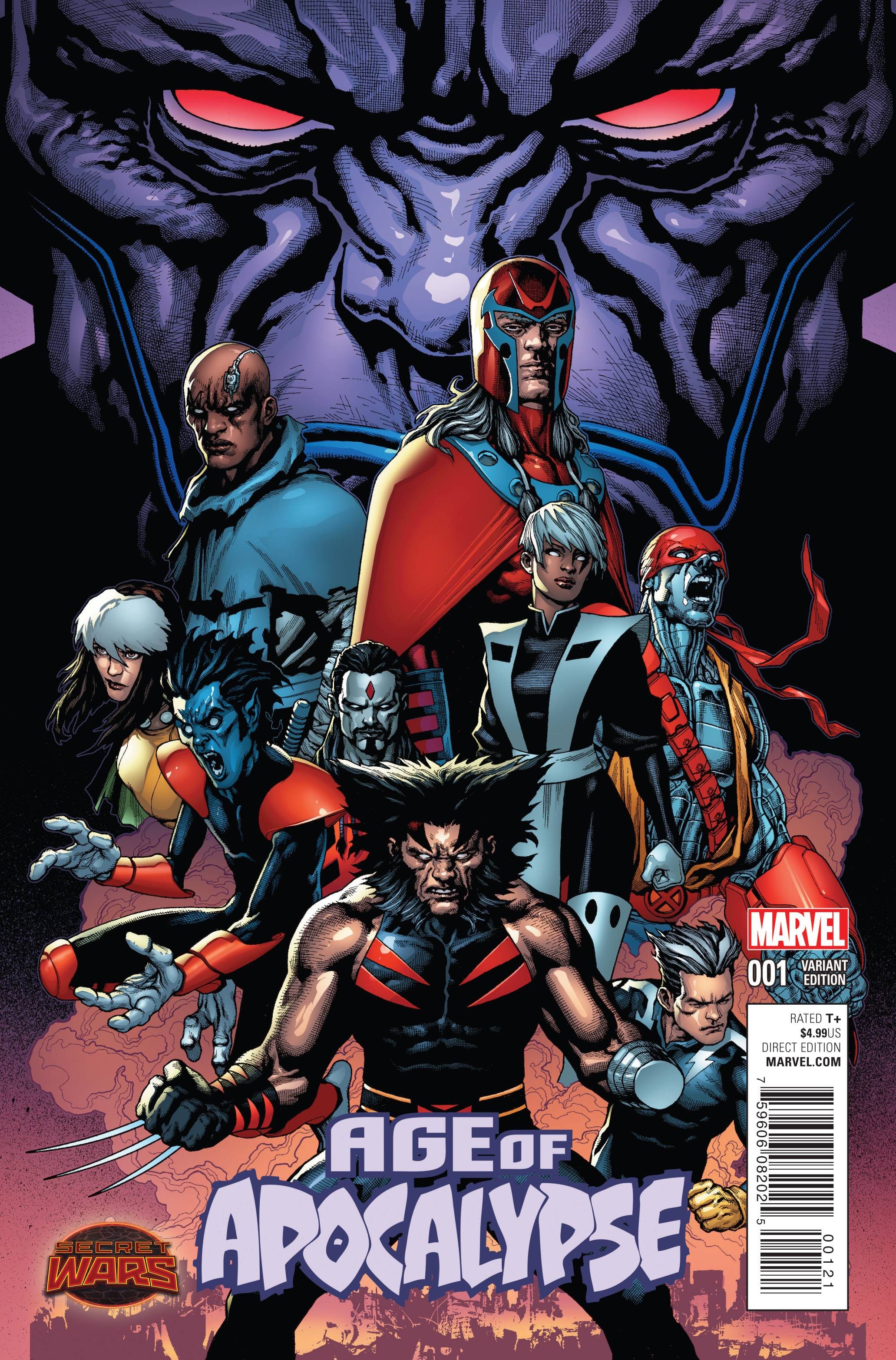 Read online Age of Apocalypse (2015) comic -  Issue #1 - 2