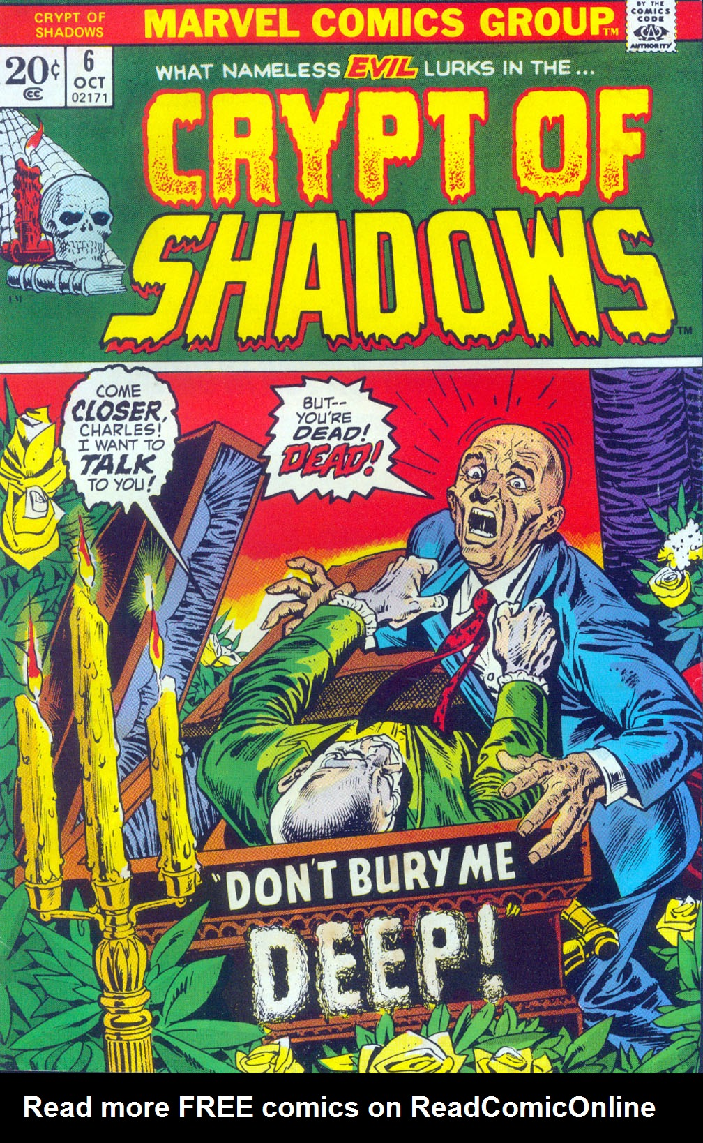 Read online Crypt of Shadows comic -  Issue #6 - 1