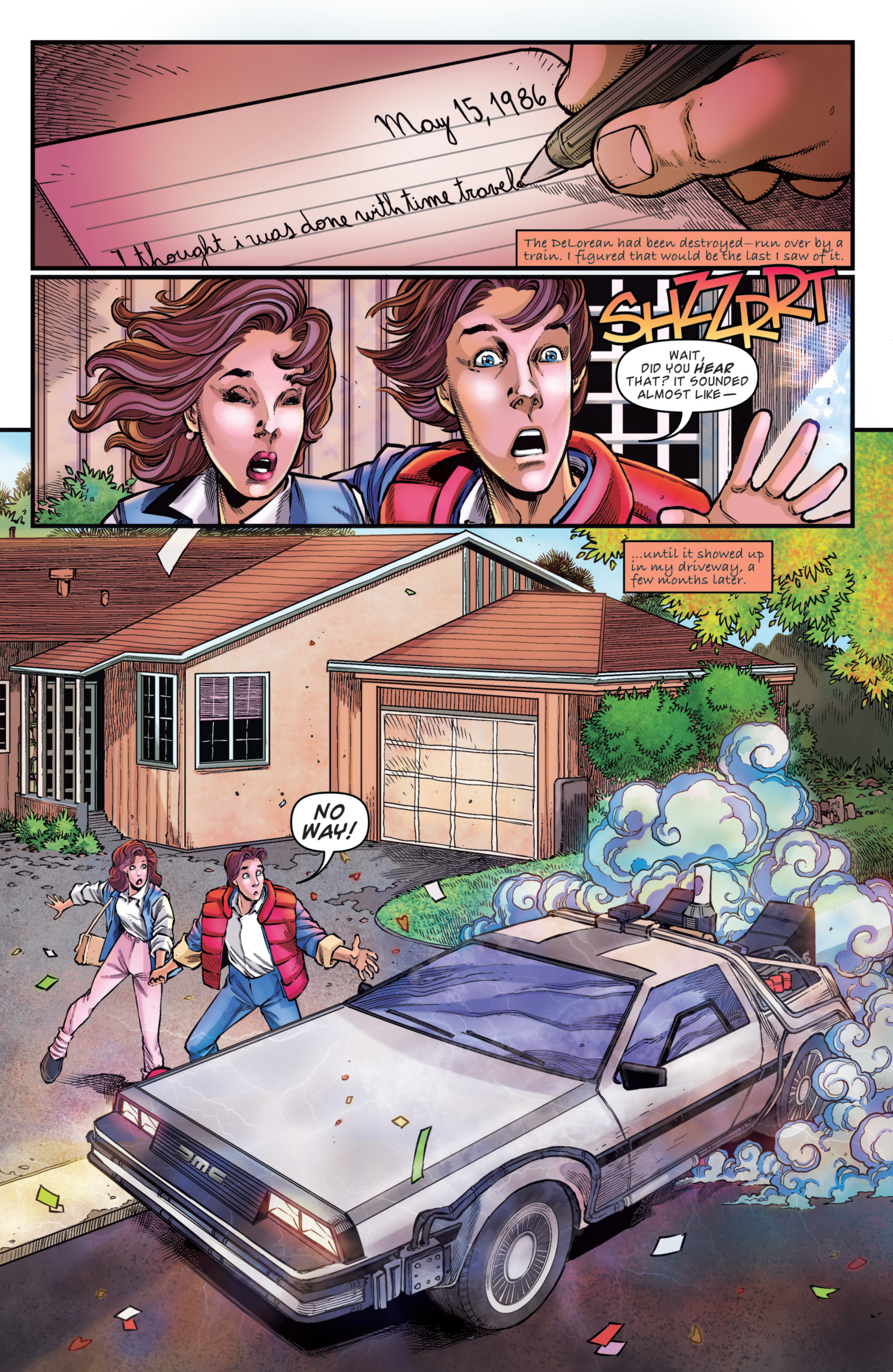 Read online Back to the Future: Biff to the Future comic -  Issue #5 - 26