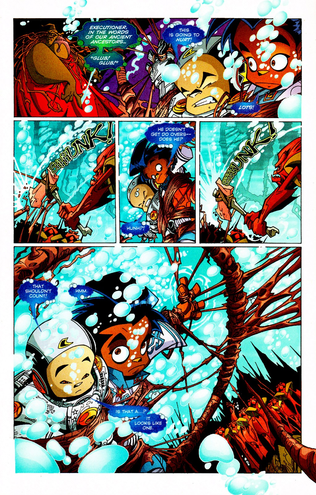 Read online Monster World (Existed) comic -  Issue #3 - 11