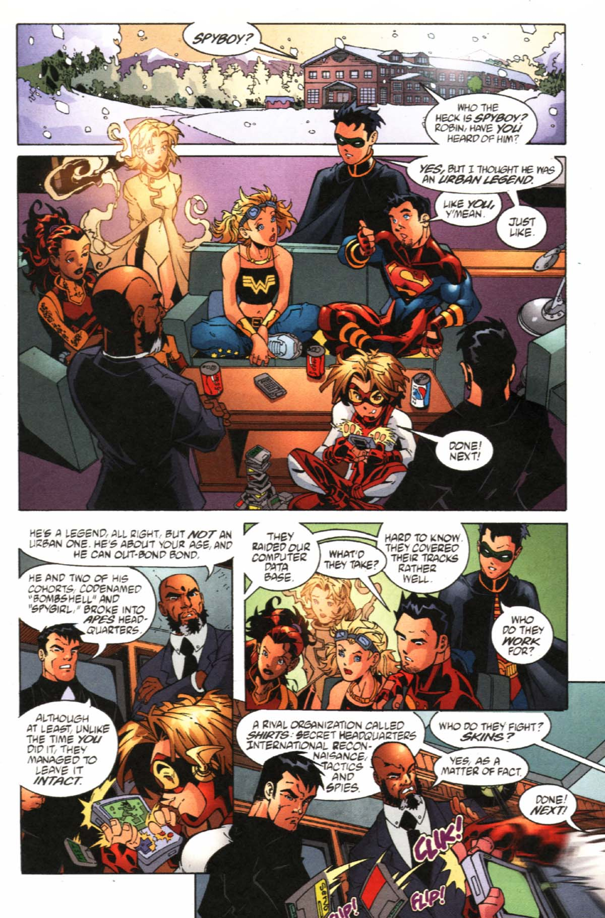 Read online SpyBoy/Young Justice comic -  Issue #1 - 9