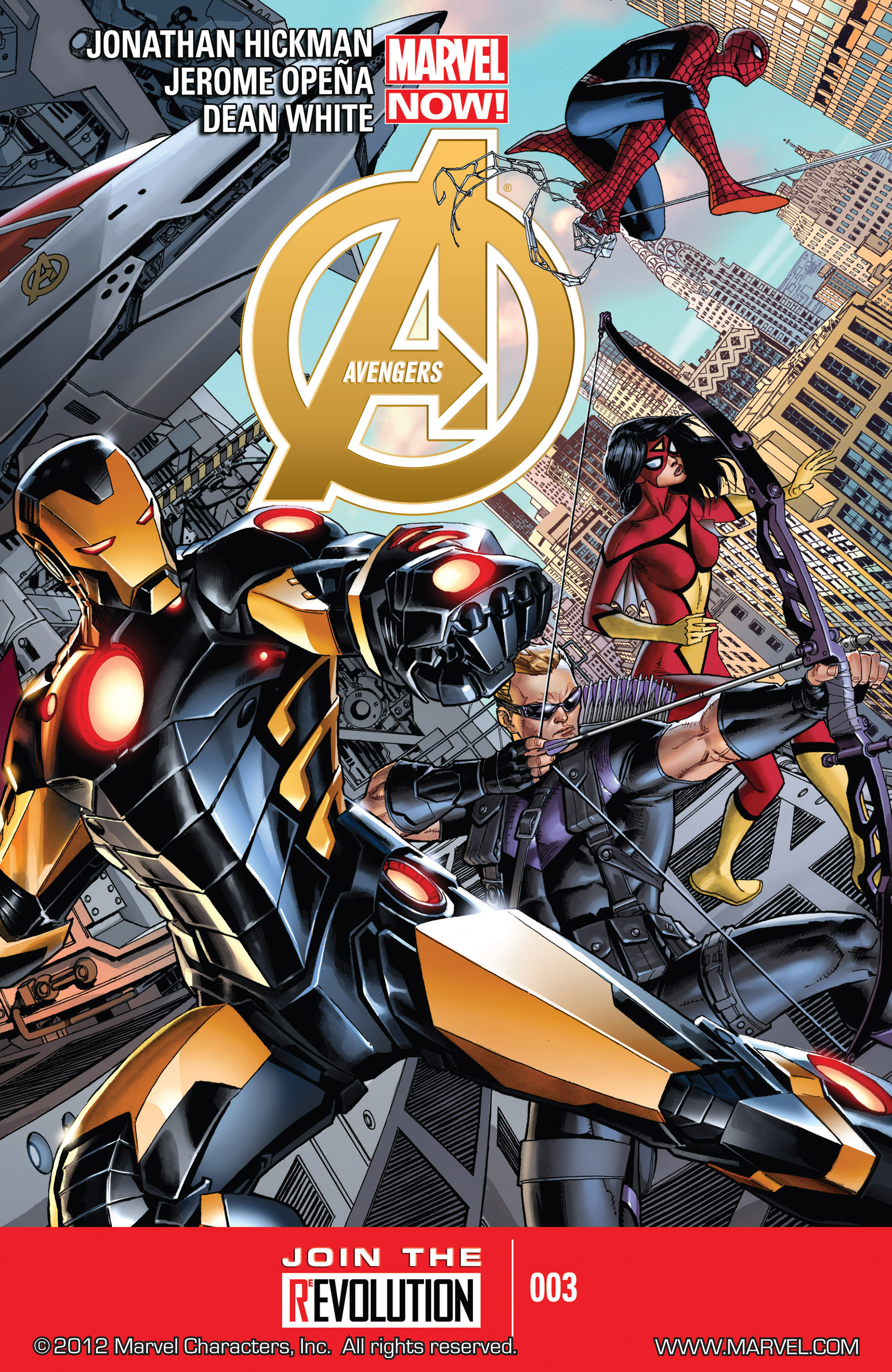 Read online Avengers (2013) comic -  Issue #3 - 1