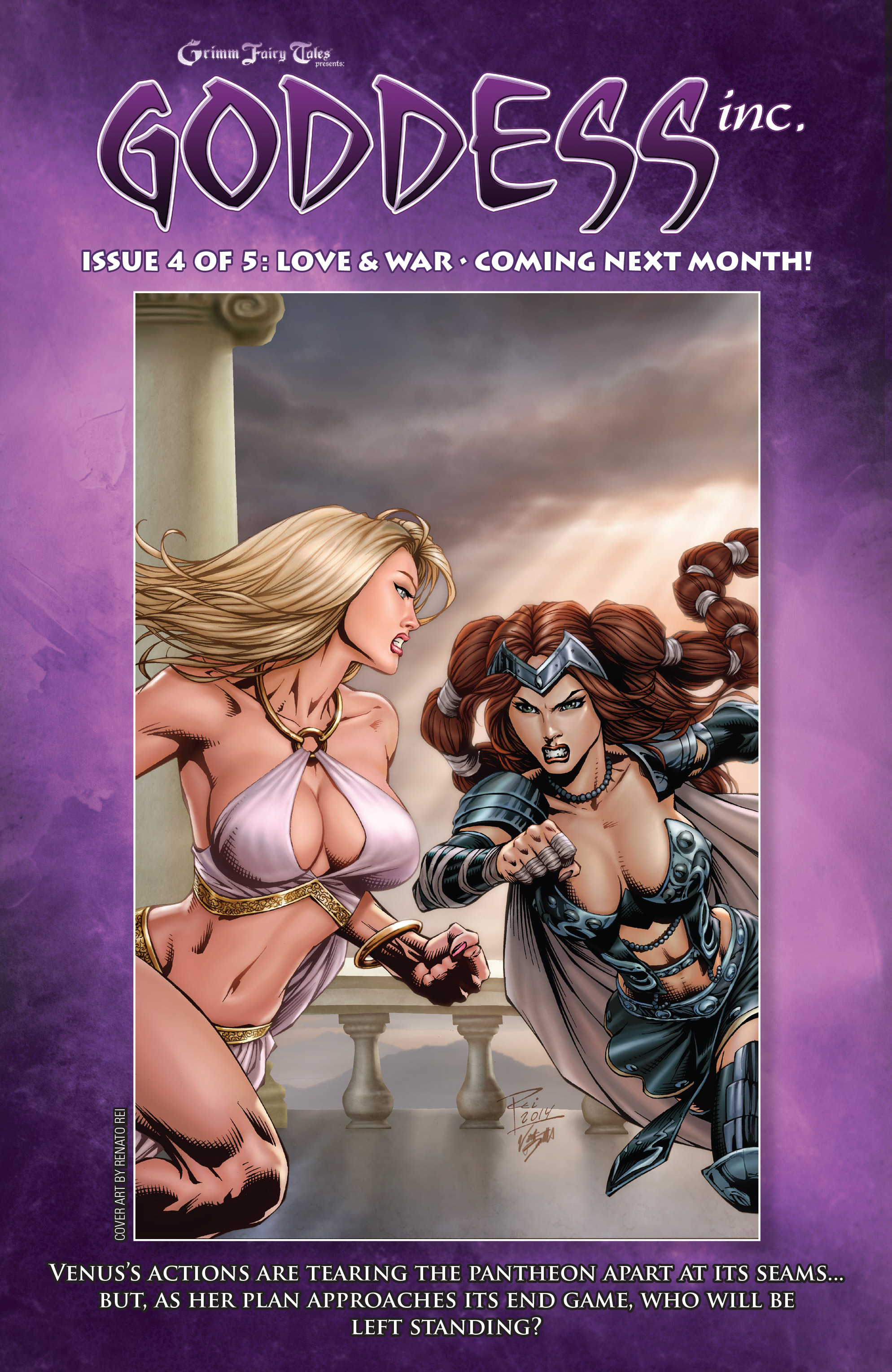 Read online Grimm Fairy Tales presents Goddess Inc. comic -  Issue #3 - 25