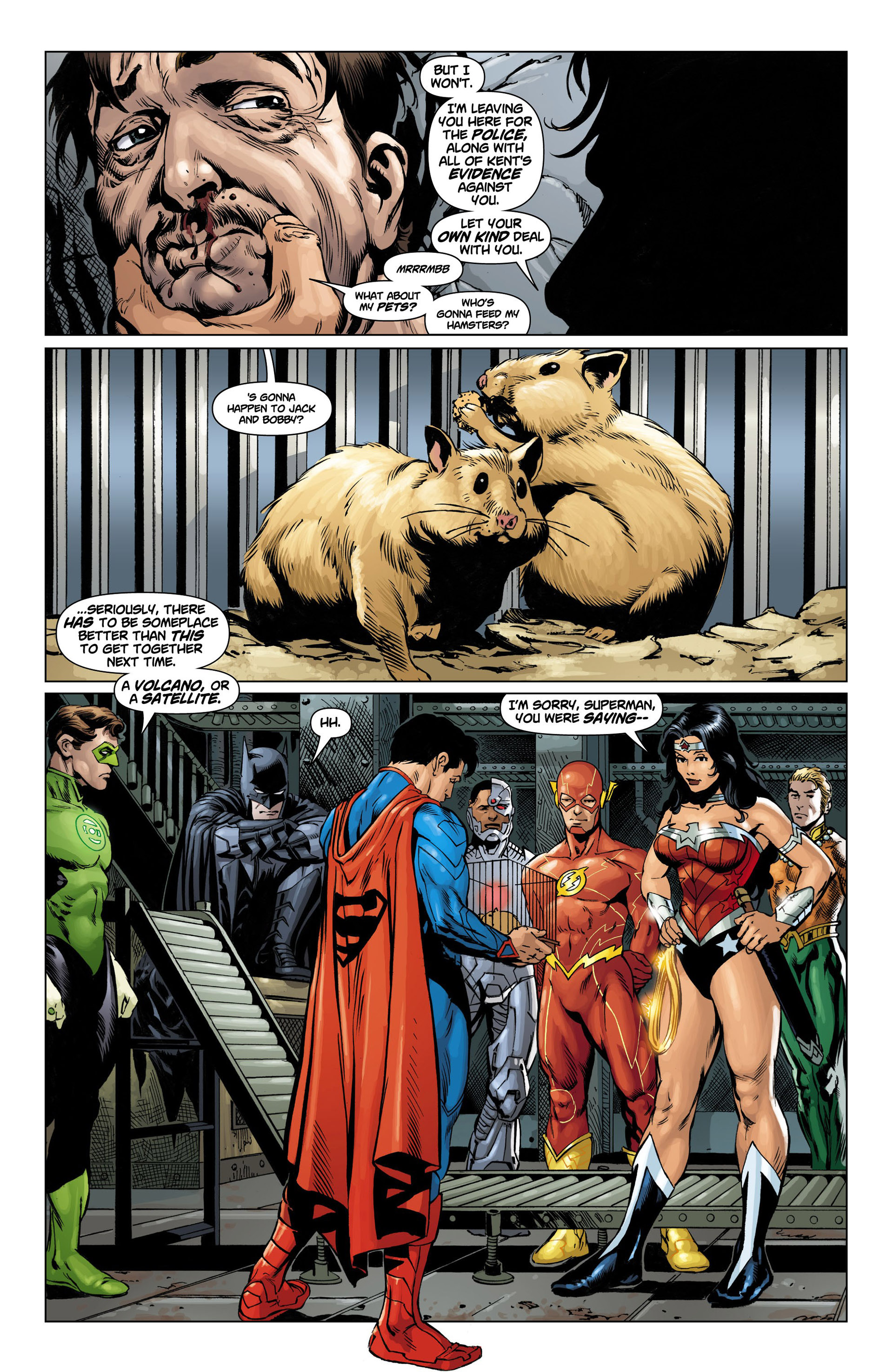 Read online Action Comics (2011) comic -  Issue #10 - 7