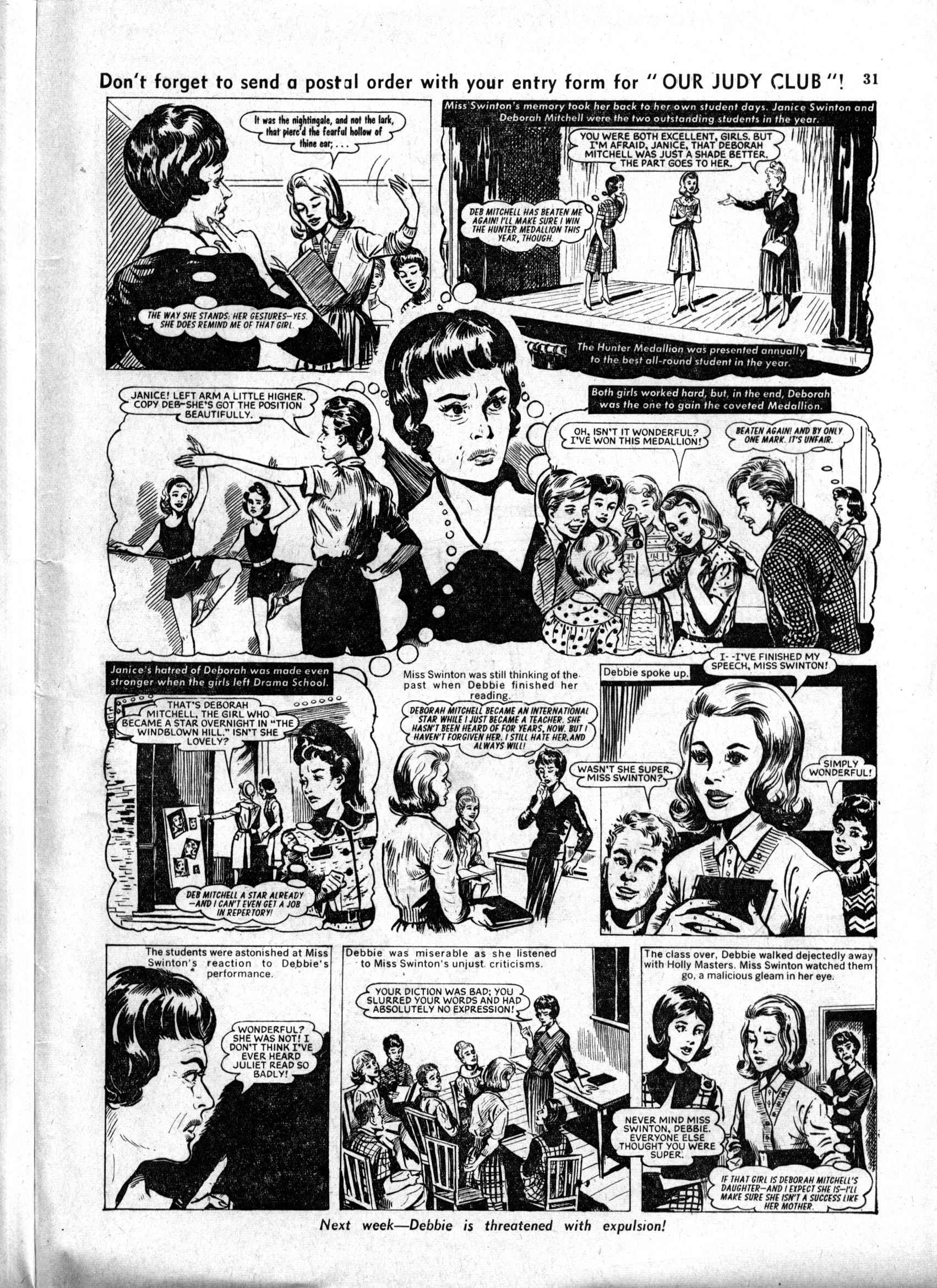 Read online Judy comic -  Issue #158 - 31