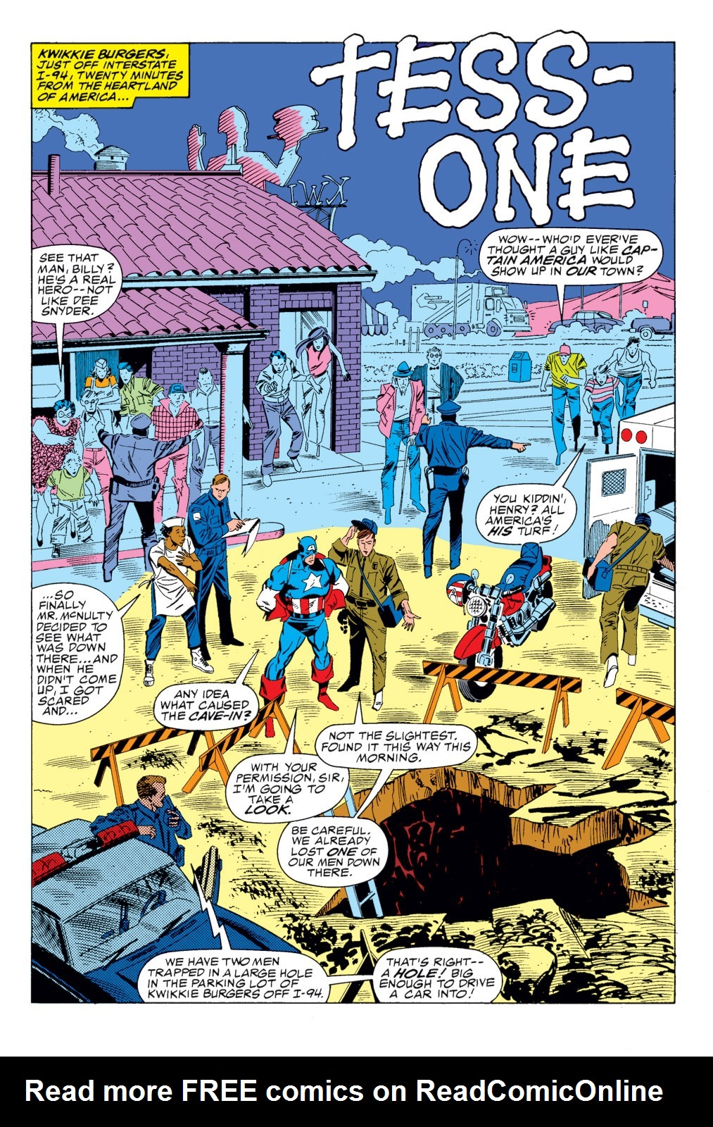 Read online Captain America (1968) comic -  Issue # _Annual 8 - 9