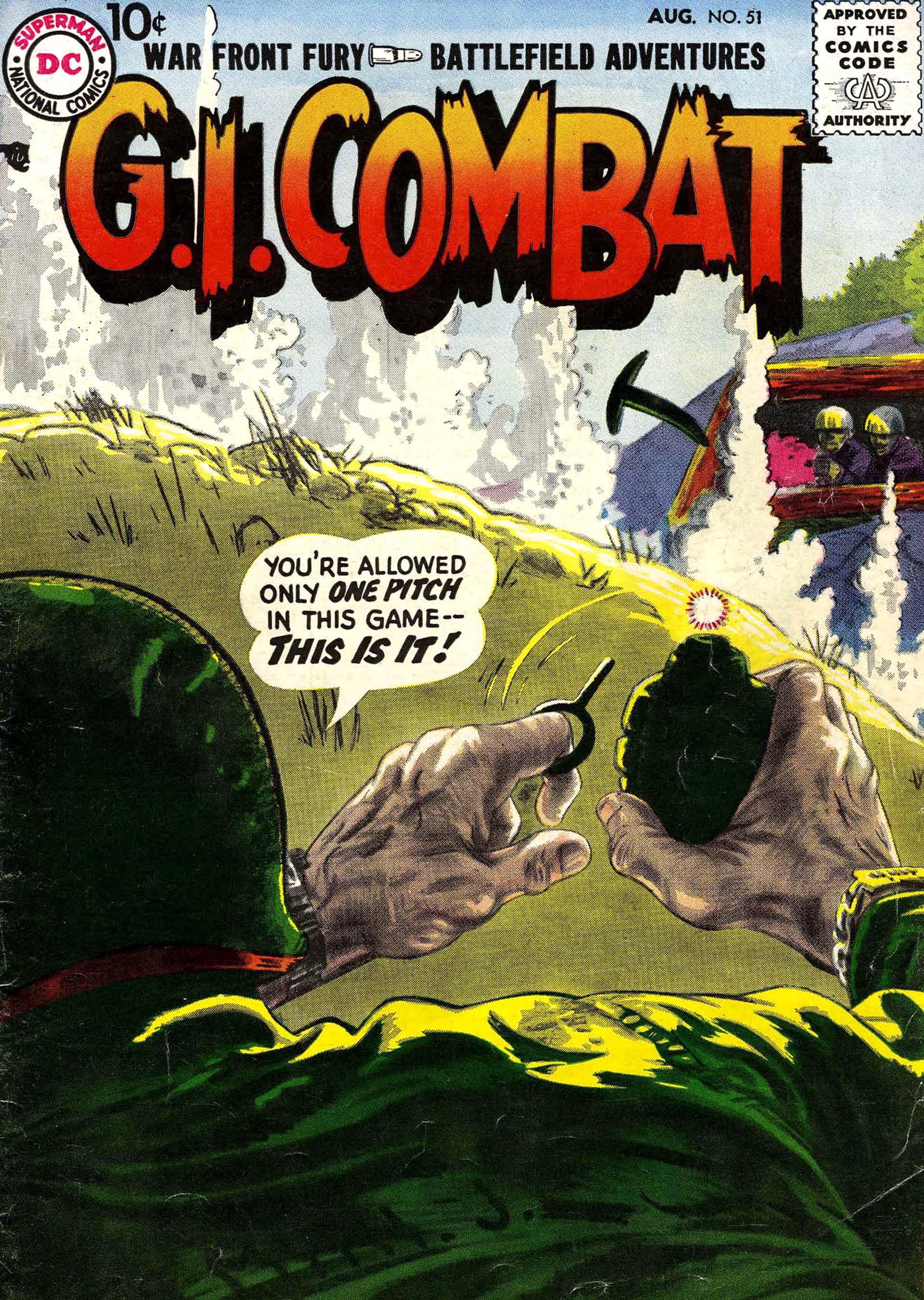 G.I. Combat (1952) 51 Page 1