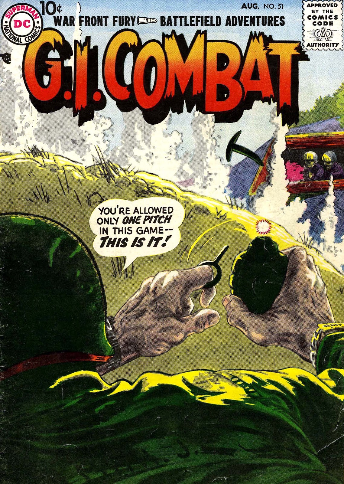 G.I. Combat (1952) issue 51 - Page 1
