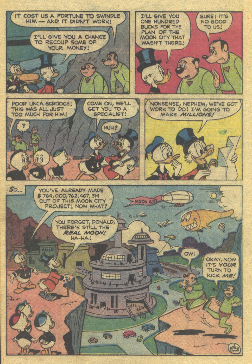 Read online Uncle Scrooge (1953) comic -  Issue #162 - 20