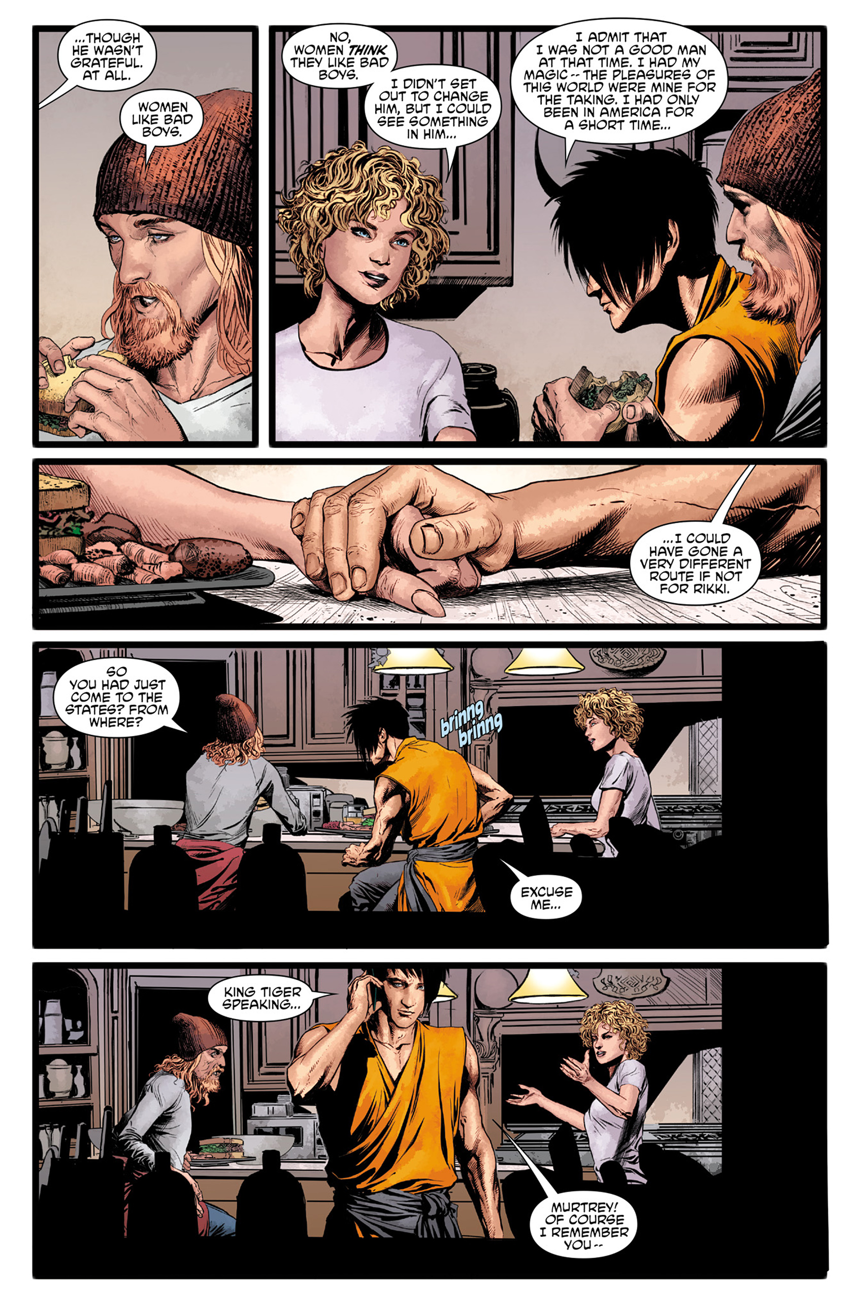 Read online King Tiger comic -  Issue #1 - 15