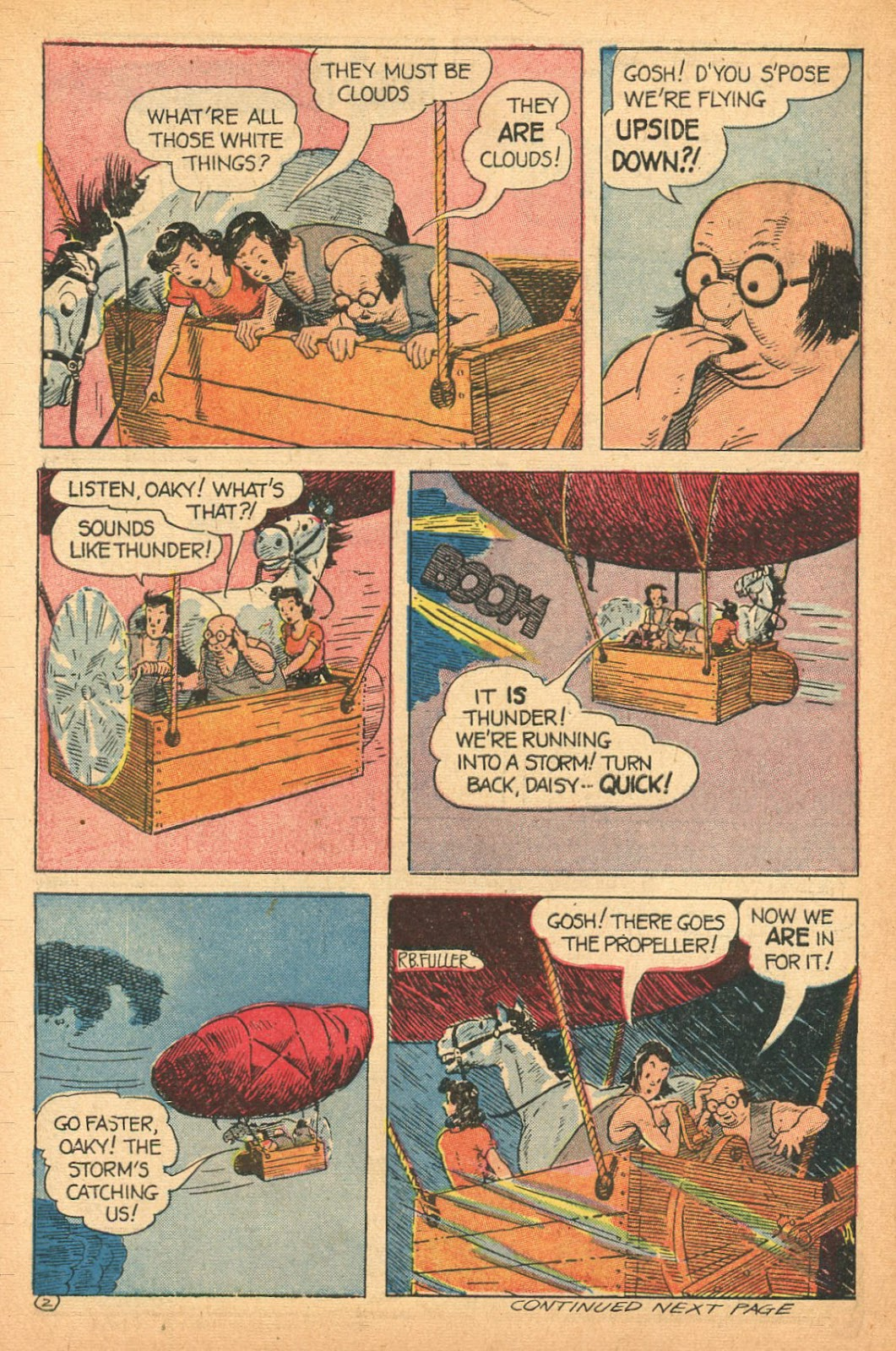 Read online Famous Funnies comic -  Issue #132 - 30