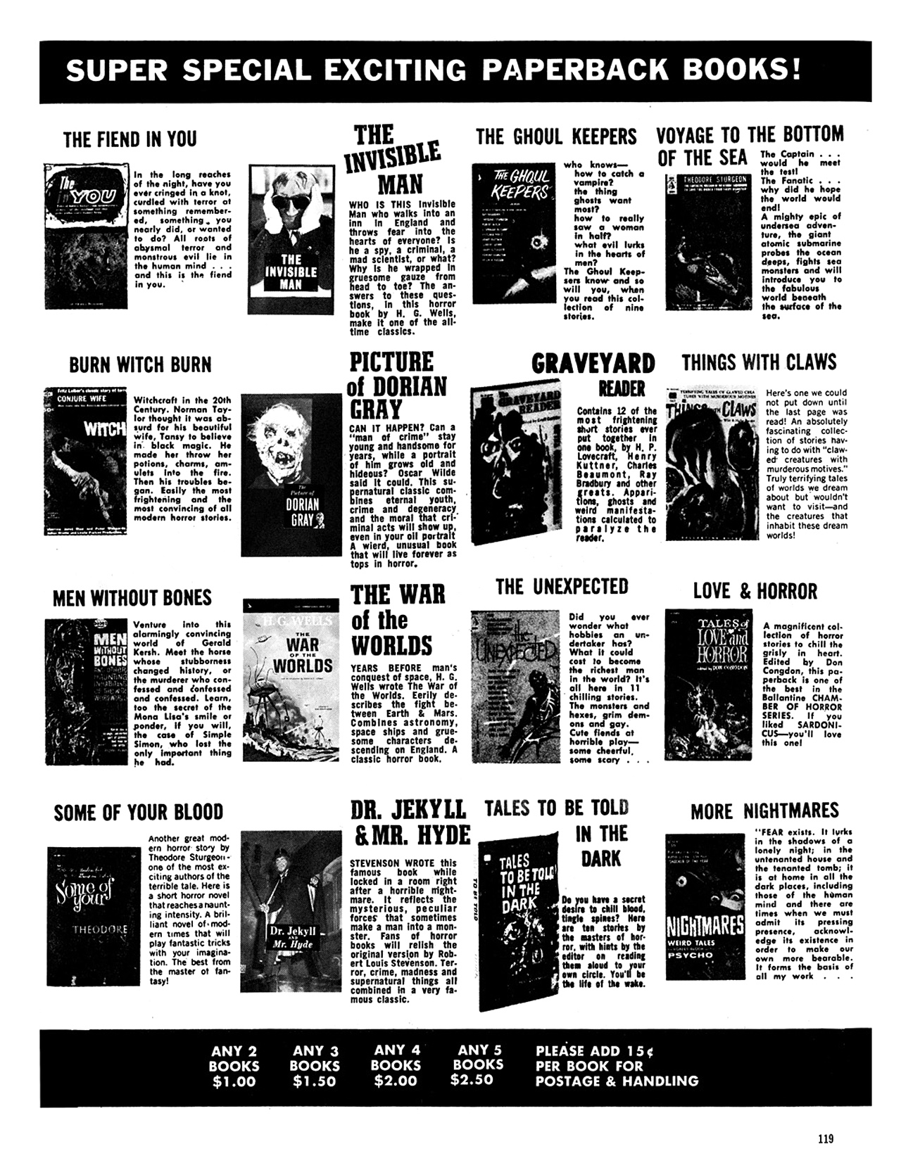 Read online Eerie Archives comic -  Issue # TPB 6 - 119