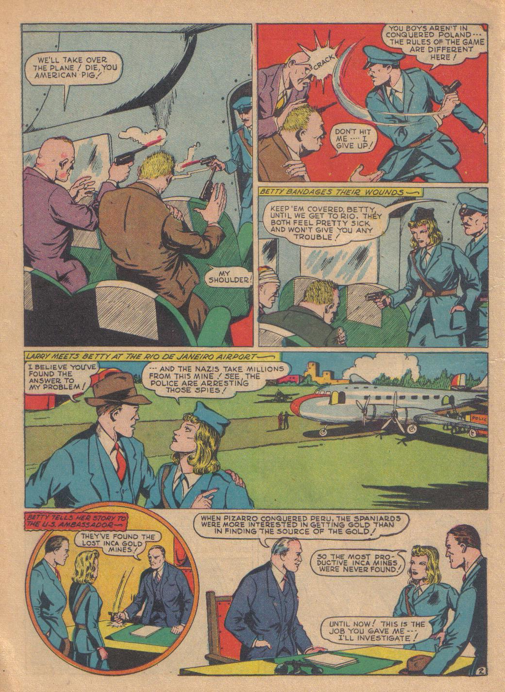 Exciting Comics (1940) issue 13 - Page 32