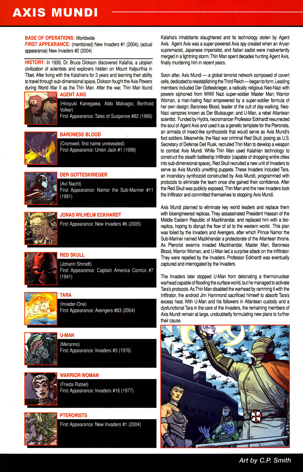 Read online All-New Official Handbook of the Marvel Universe A to Z comic -  Issue #1 - 46