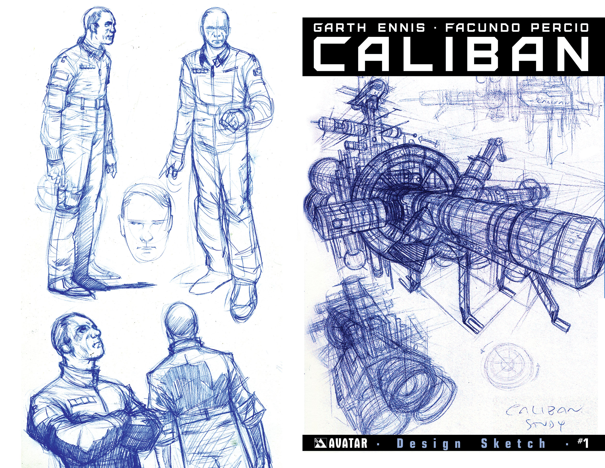 Read online Caliban comic -  Issue #1 - 4