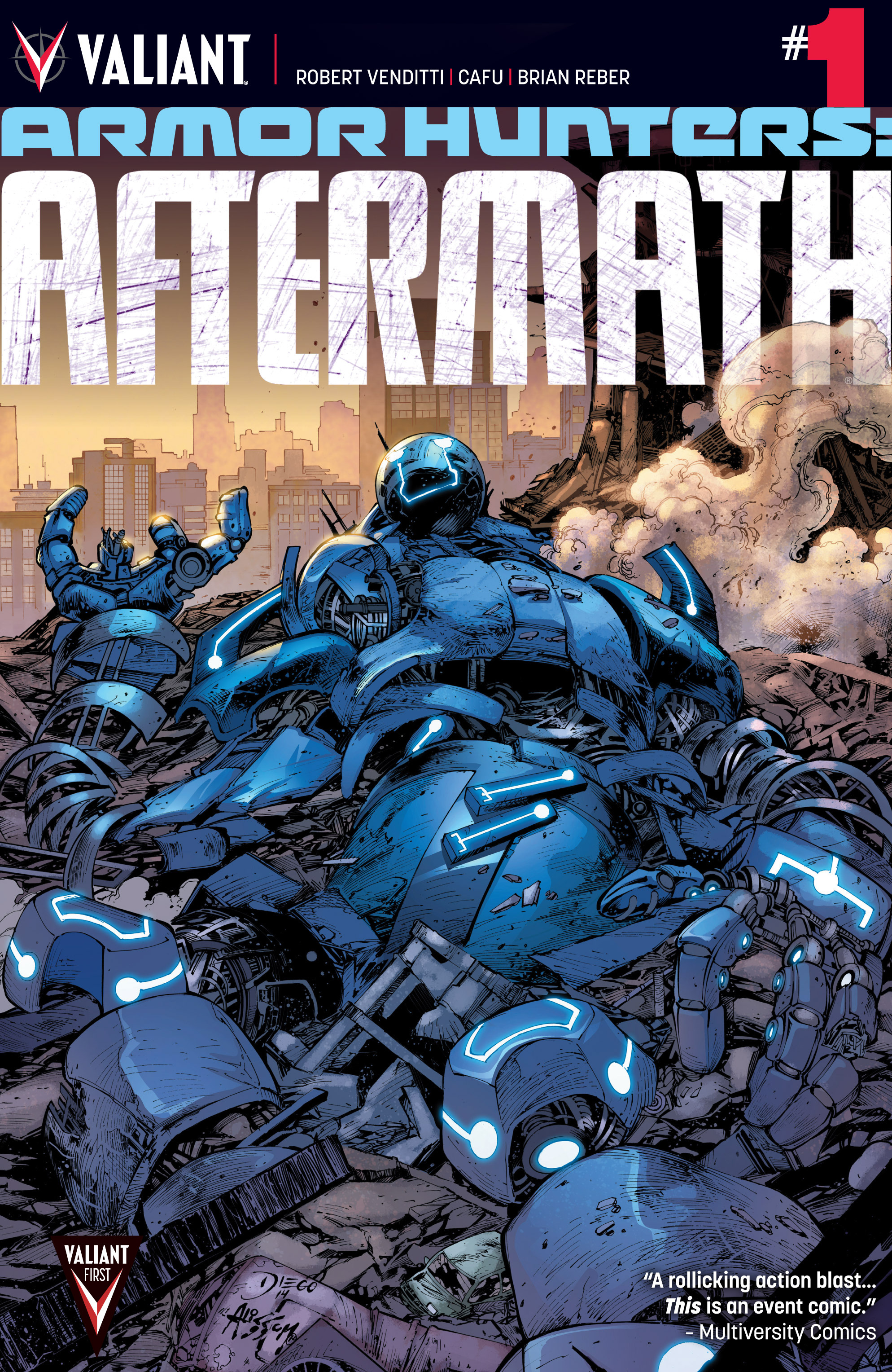 Read online Armor Hunters: Aftermath comic -  Issue # Full - 1