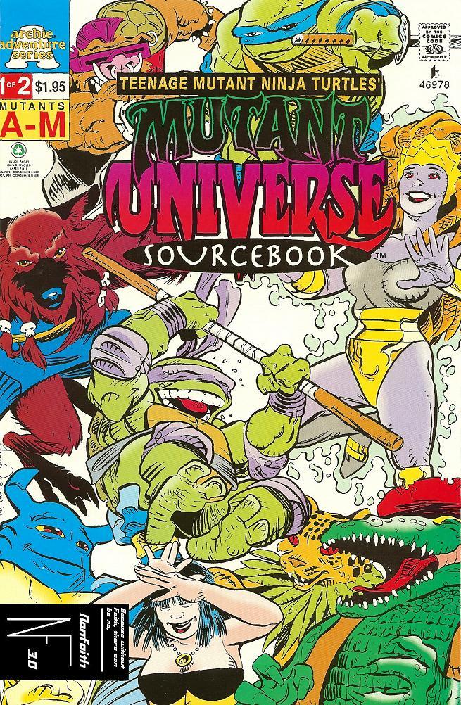 Teenage Mutant Ninja Turtles Mutant Universe Sourcebook 1 Page 1