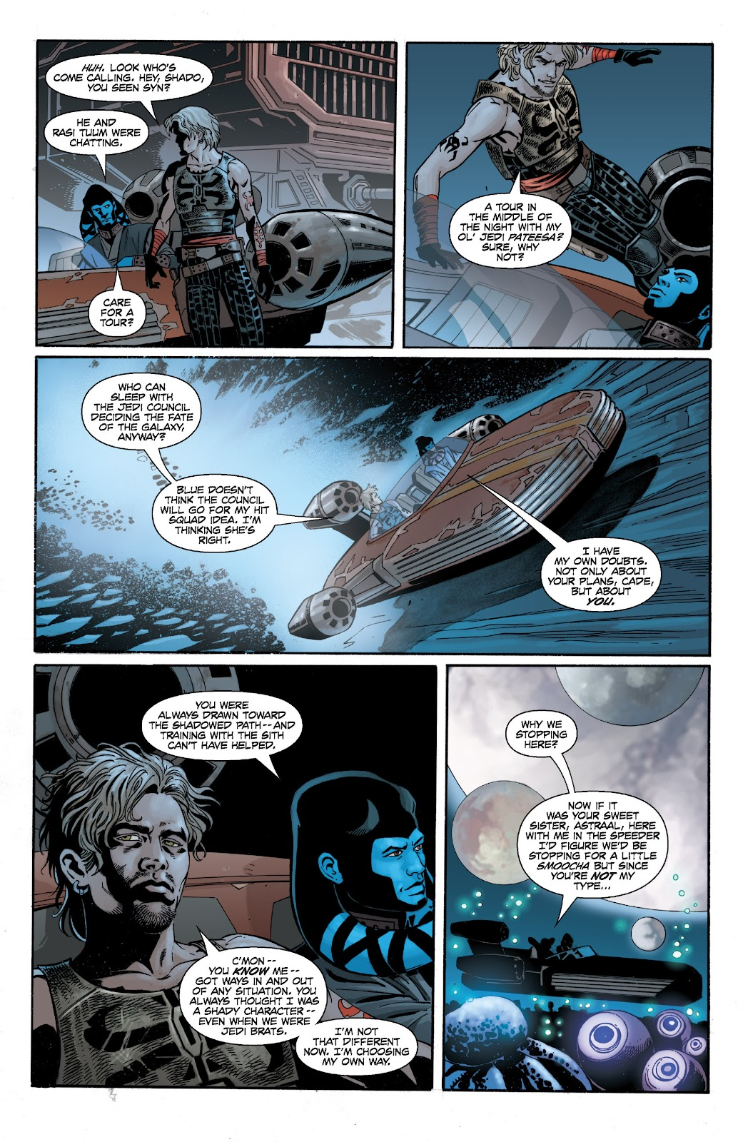 Read online Star Wars Legends: Legacy - Epic Collection comic -  Issue # TPB 2 (Part 2) - 88