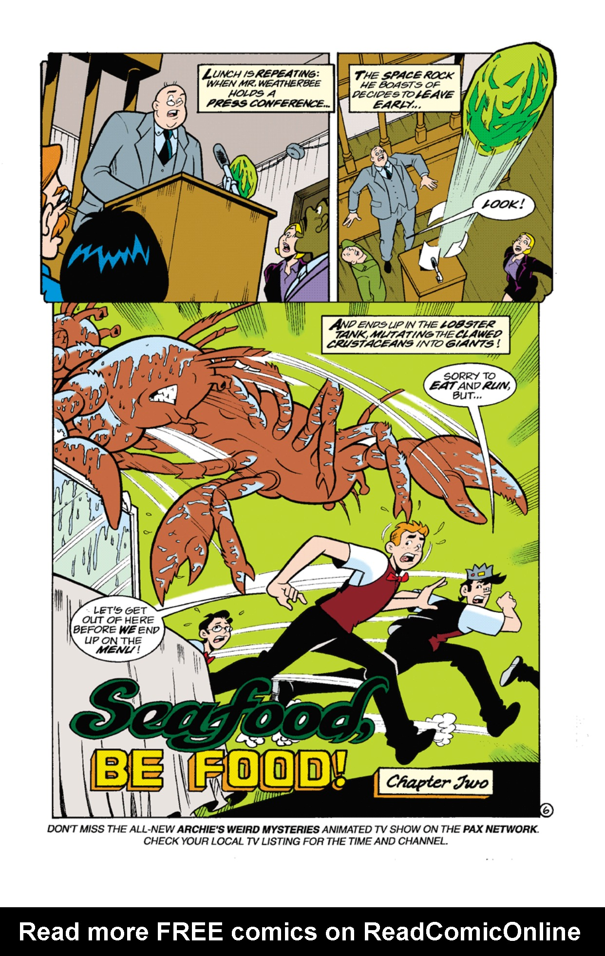 Read online Archie's Weird Mysteries comic -  Issue #8 - 8
