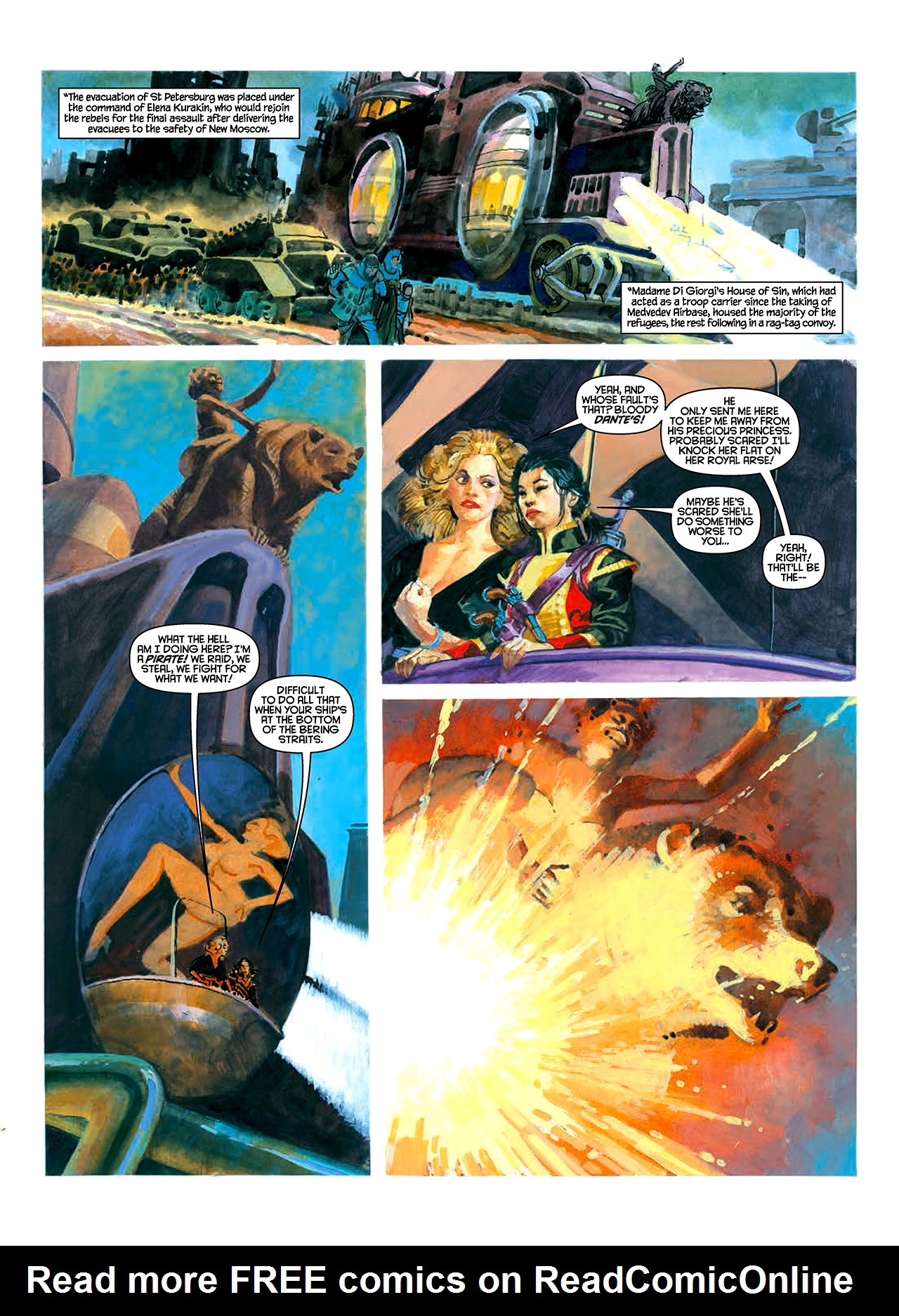 Read online Nikolai Dante comic -  Issue # TPB 10 - 37