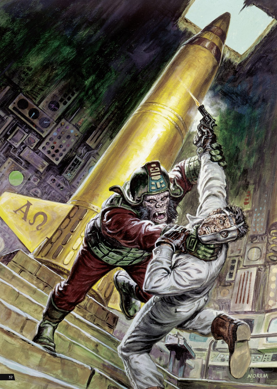Read online Planet of the Apes Artist Tribute comic -  Issue # TPB - 32