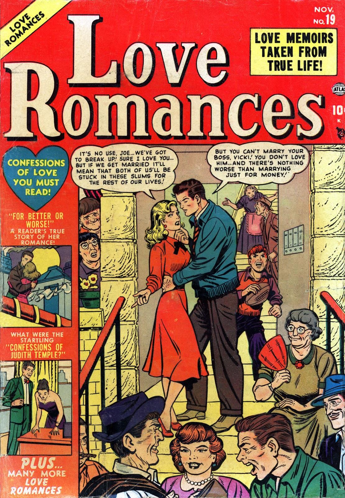 Love Romances (1949) issue 19 - Page 1