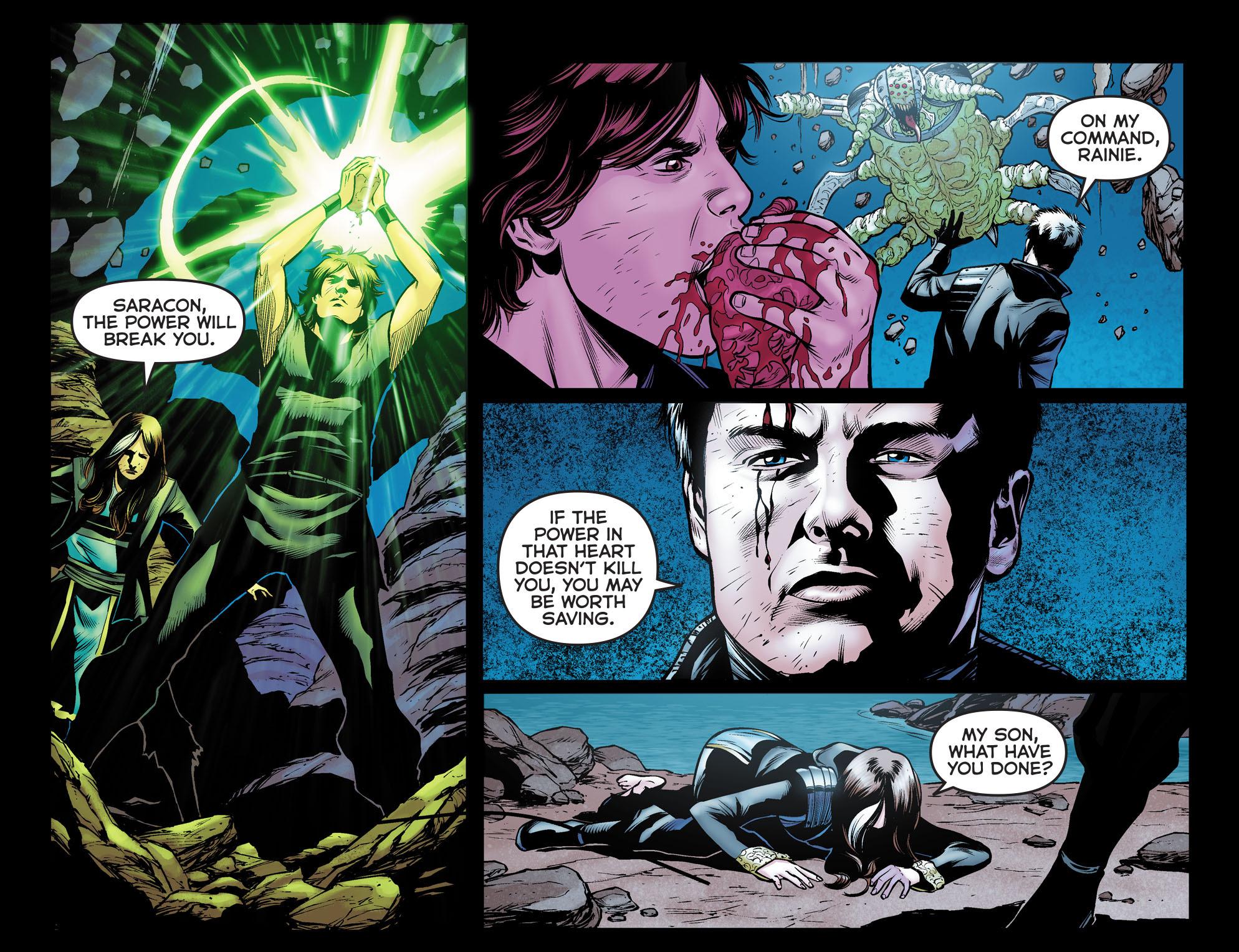 Read online Arrow: The Dark Archer comic -  Issue #12 - 11