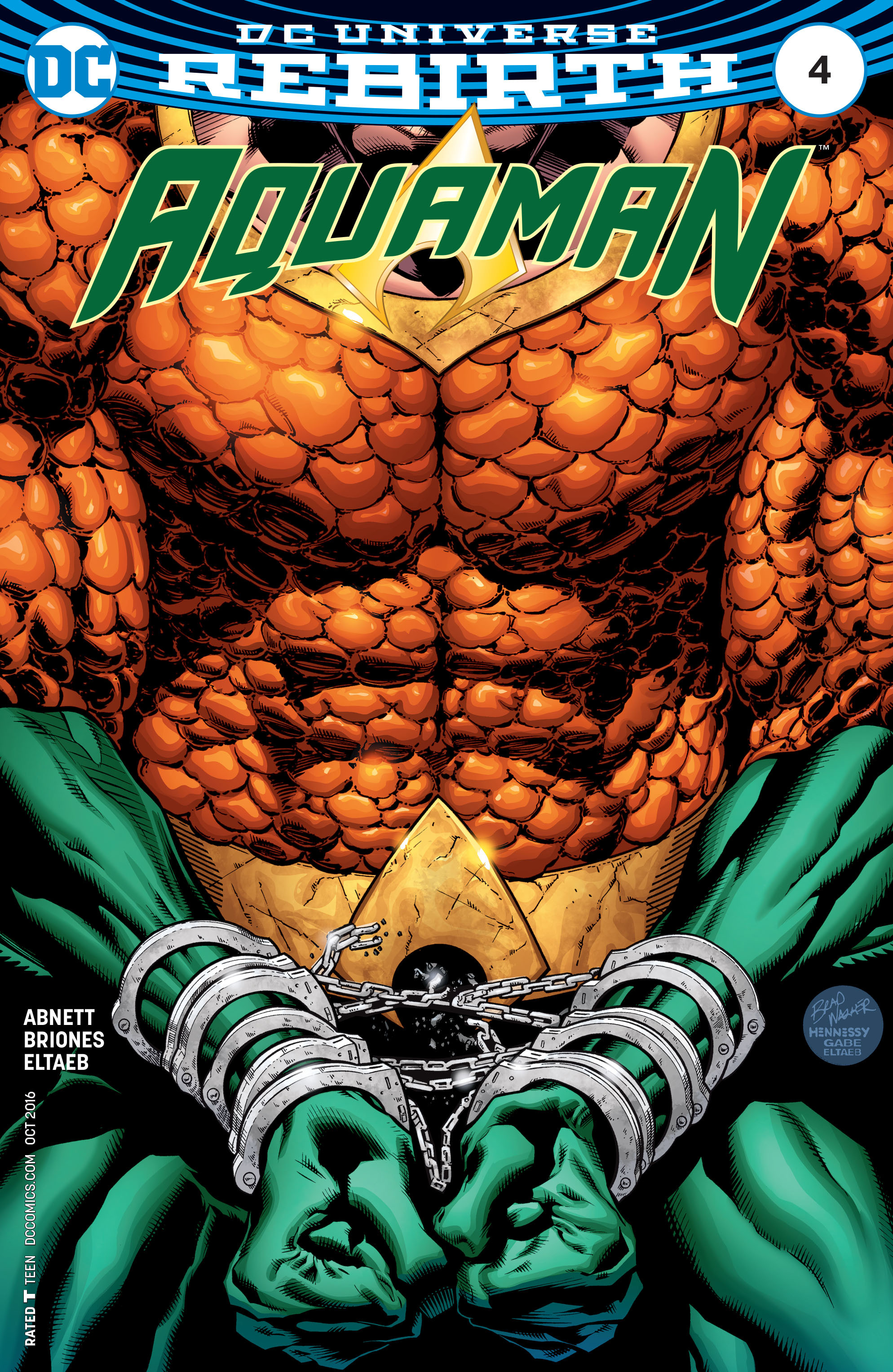Read online Aquaman (2016) comic -  Issue #4 - 1