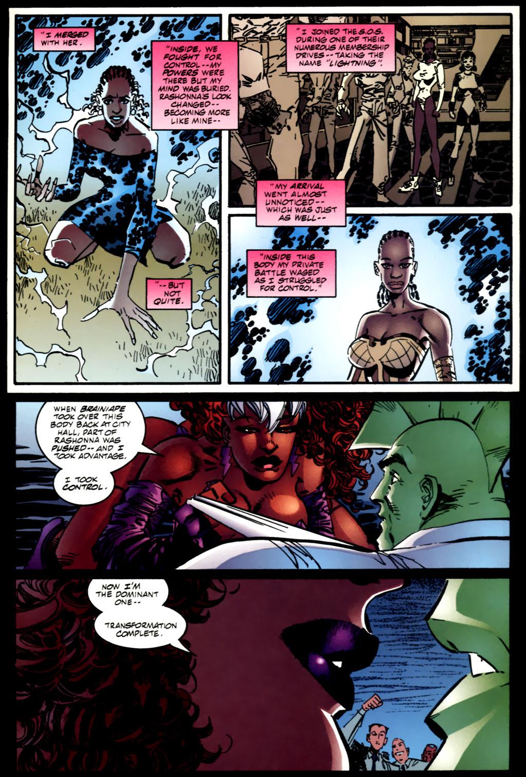 The Savage Dragon (1993) Issue #61 #64 - English 16