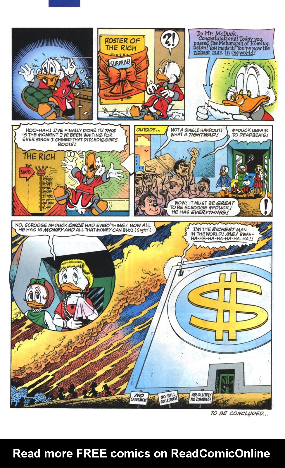 Read online Uncle Scrooge (1953) comic -  Issue #295 - 25