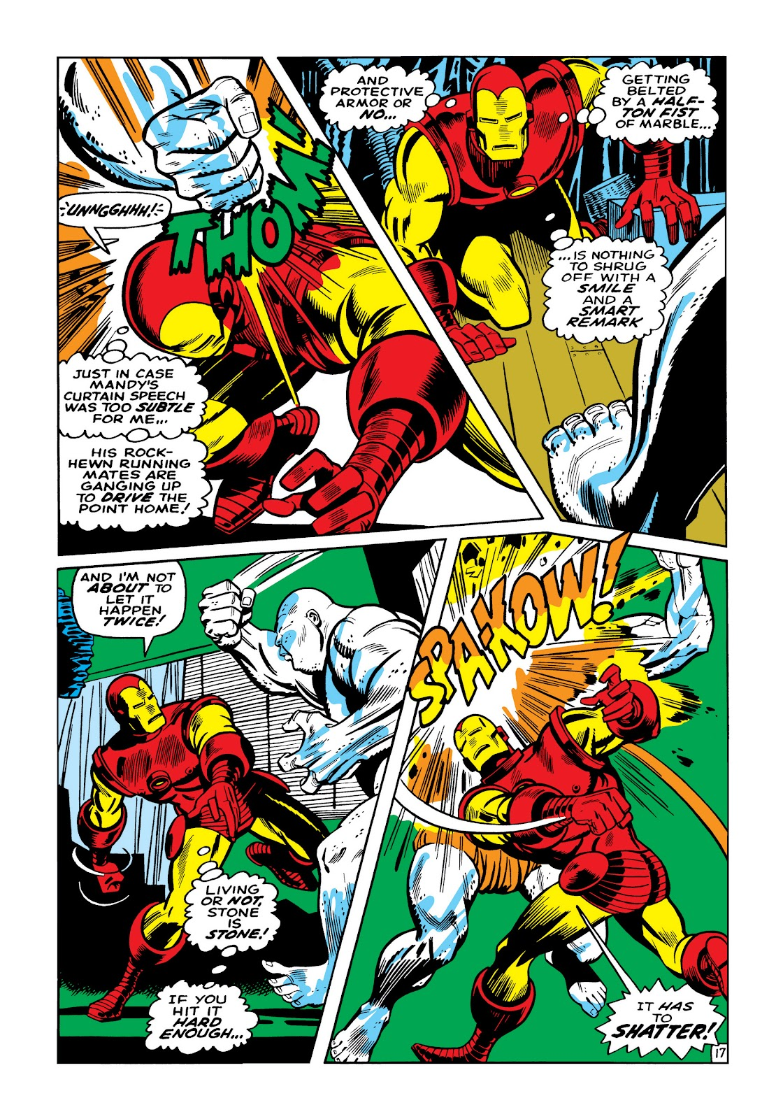 Read online Marvel Masterworks: The Invincible Iron Man comic -  Issue # TPB 5 (Part 2) - 92