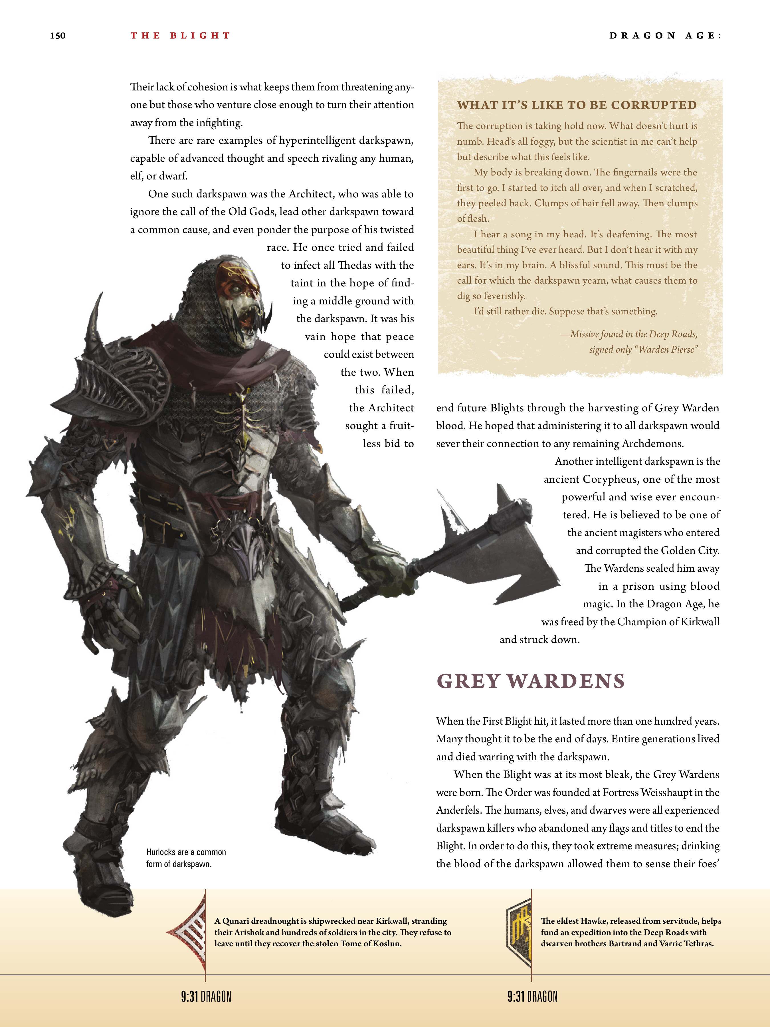 Read online Dragon Age: The World of Thedas comic -  Issue # TPB 1 - 123
