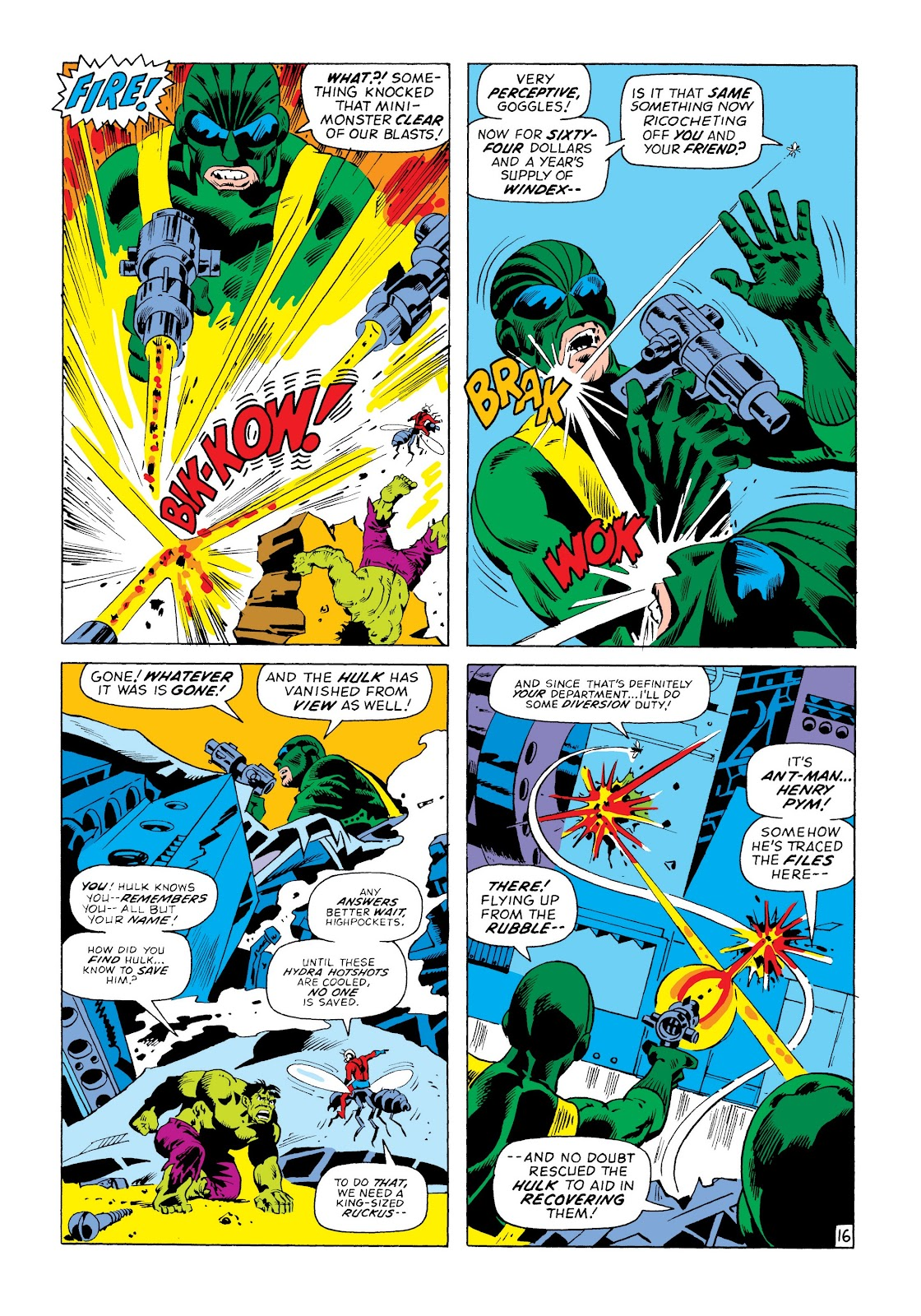 Read online Marvel Masterworks: The Incredible Hulk comic -  Issue # TPB 8 (Part 3) - 34