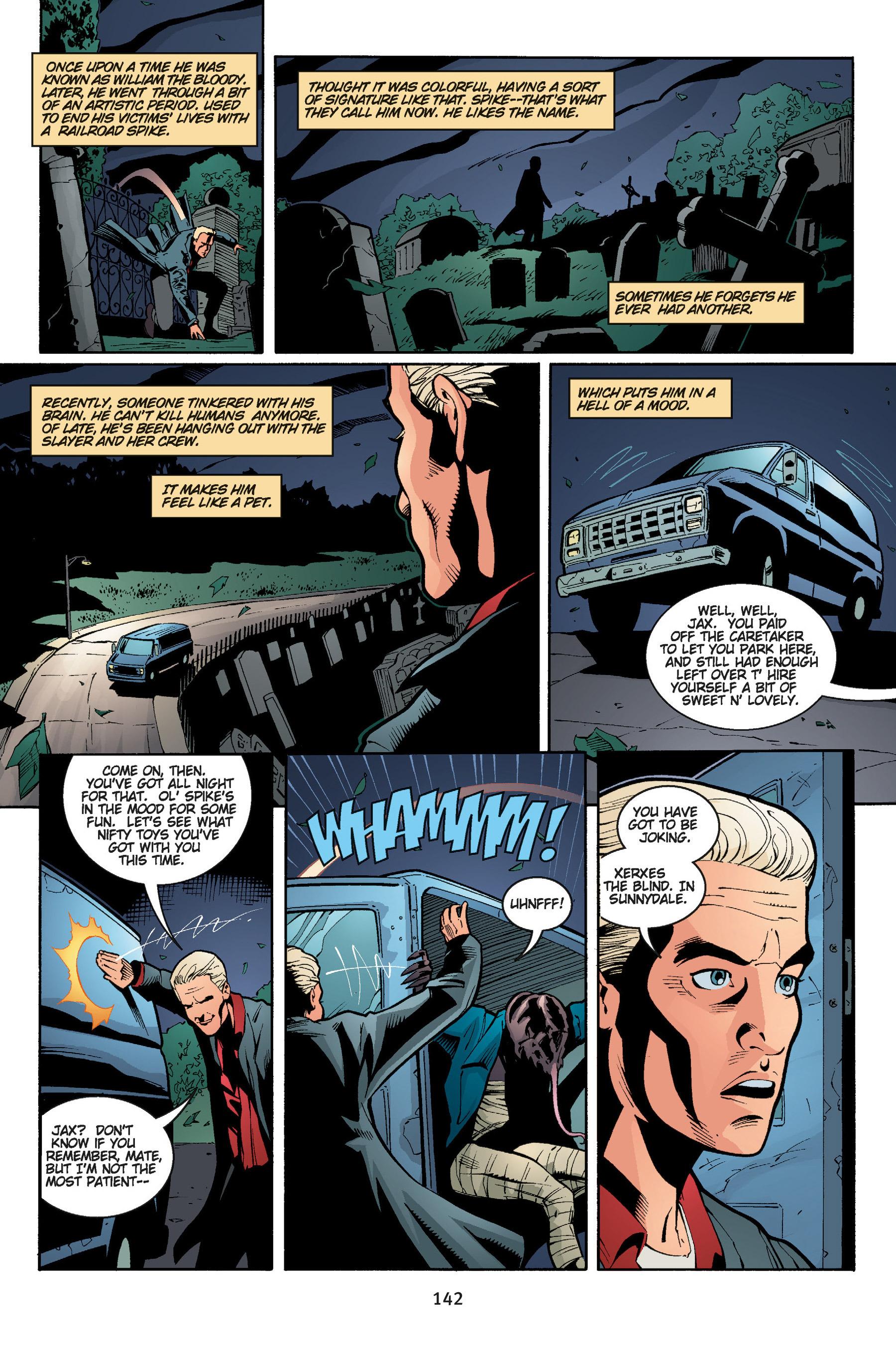Read online Buffy the Vampire Slayer: Omnibus comic -  Issue # TPB 5 - 142