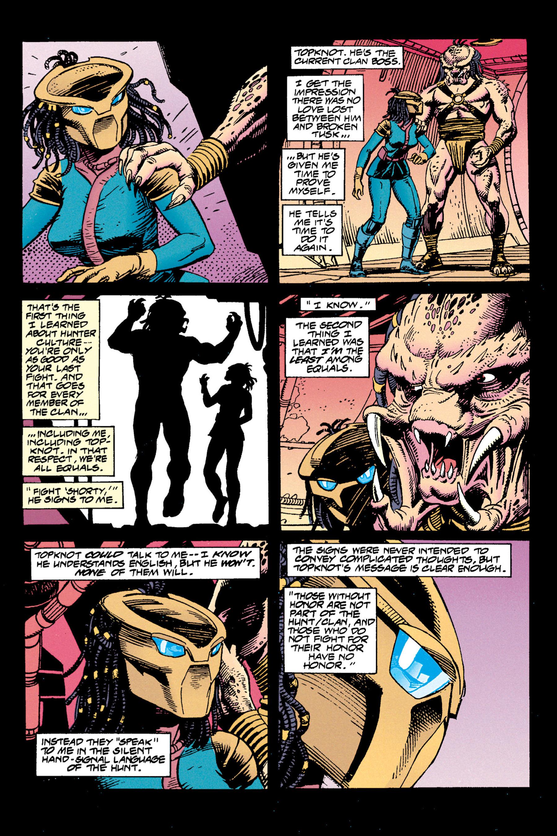 Read online Aliens vs. Predator Omnibus comic -  Issue # _TPB 1 Part 3 - 54