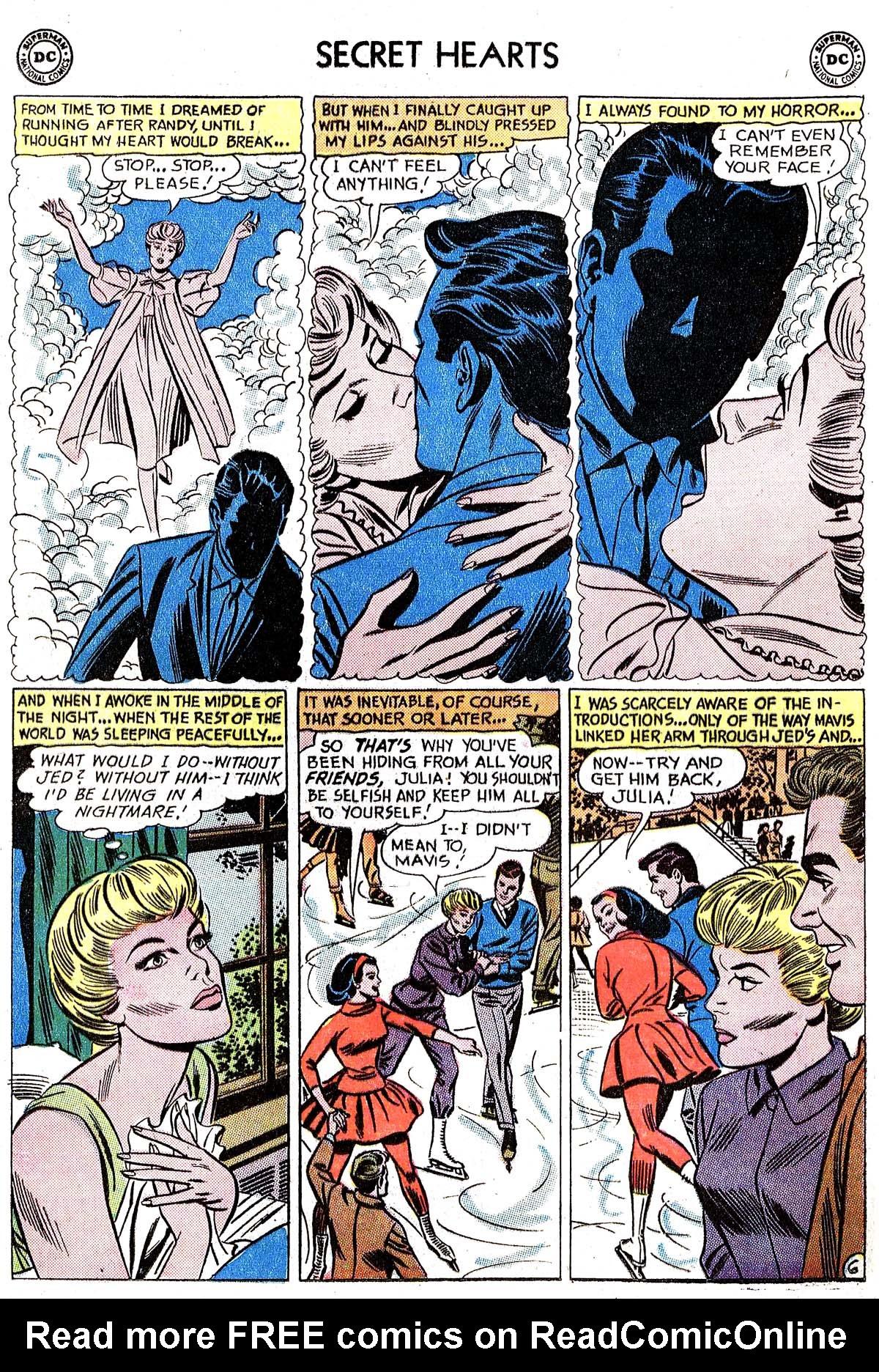 Read online Secret Hearts comic -  Issue #82 - 32