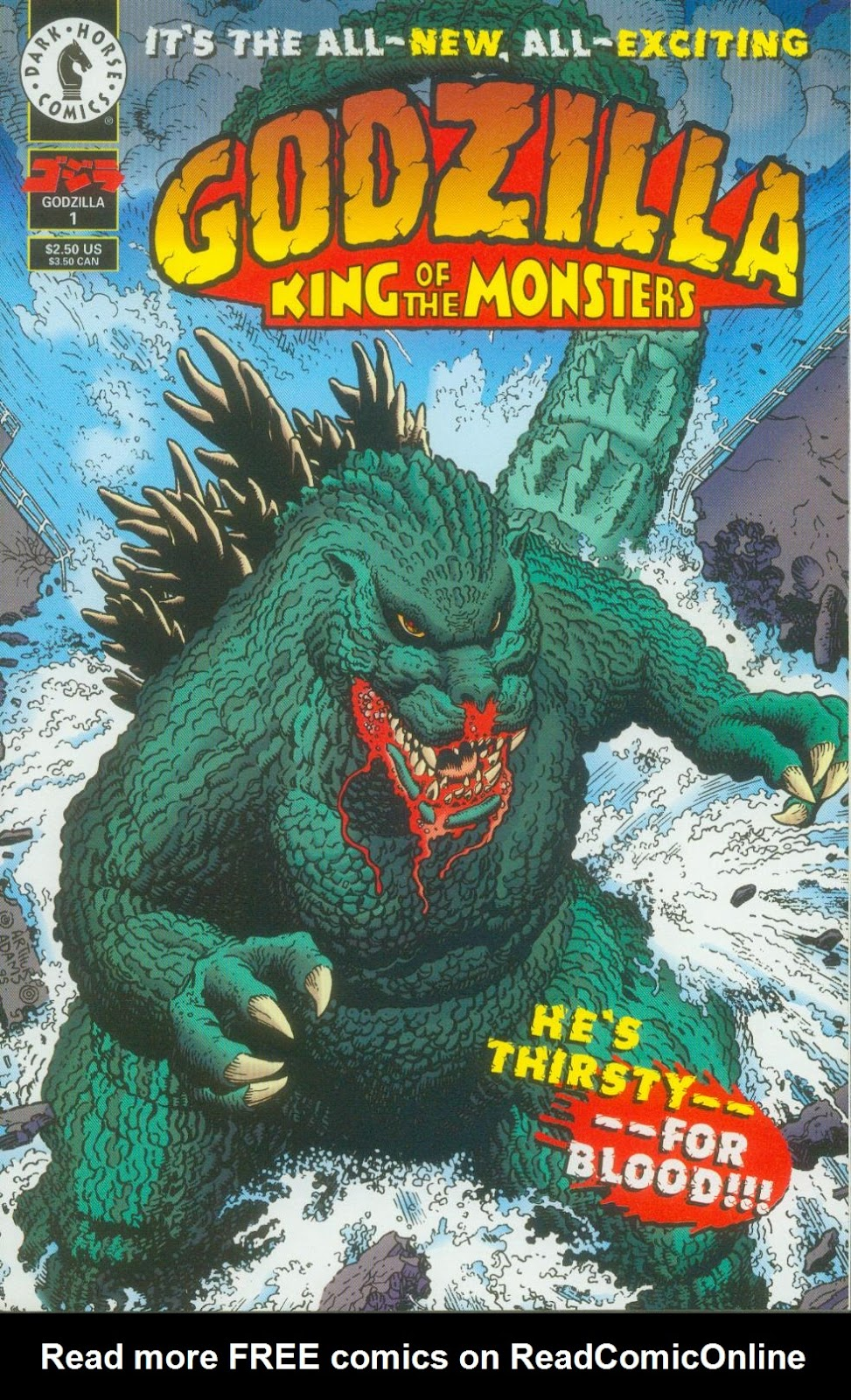 Godzilla (1995) Issue #1 #2 - English 2