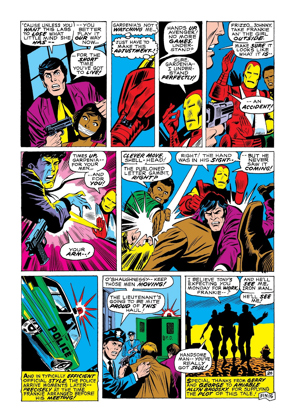 Read online Marvel Masterworks: The Invincible Iron Man comic -  Issue # TPB 7 (Part 3) - 88
