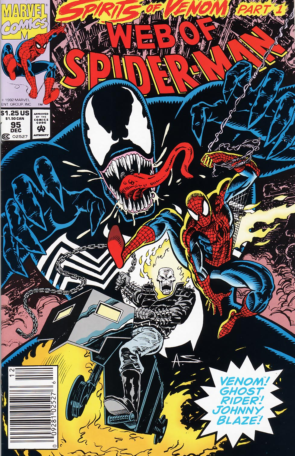Web of Spider-Man (1985) 95 Page 1