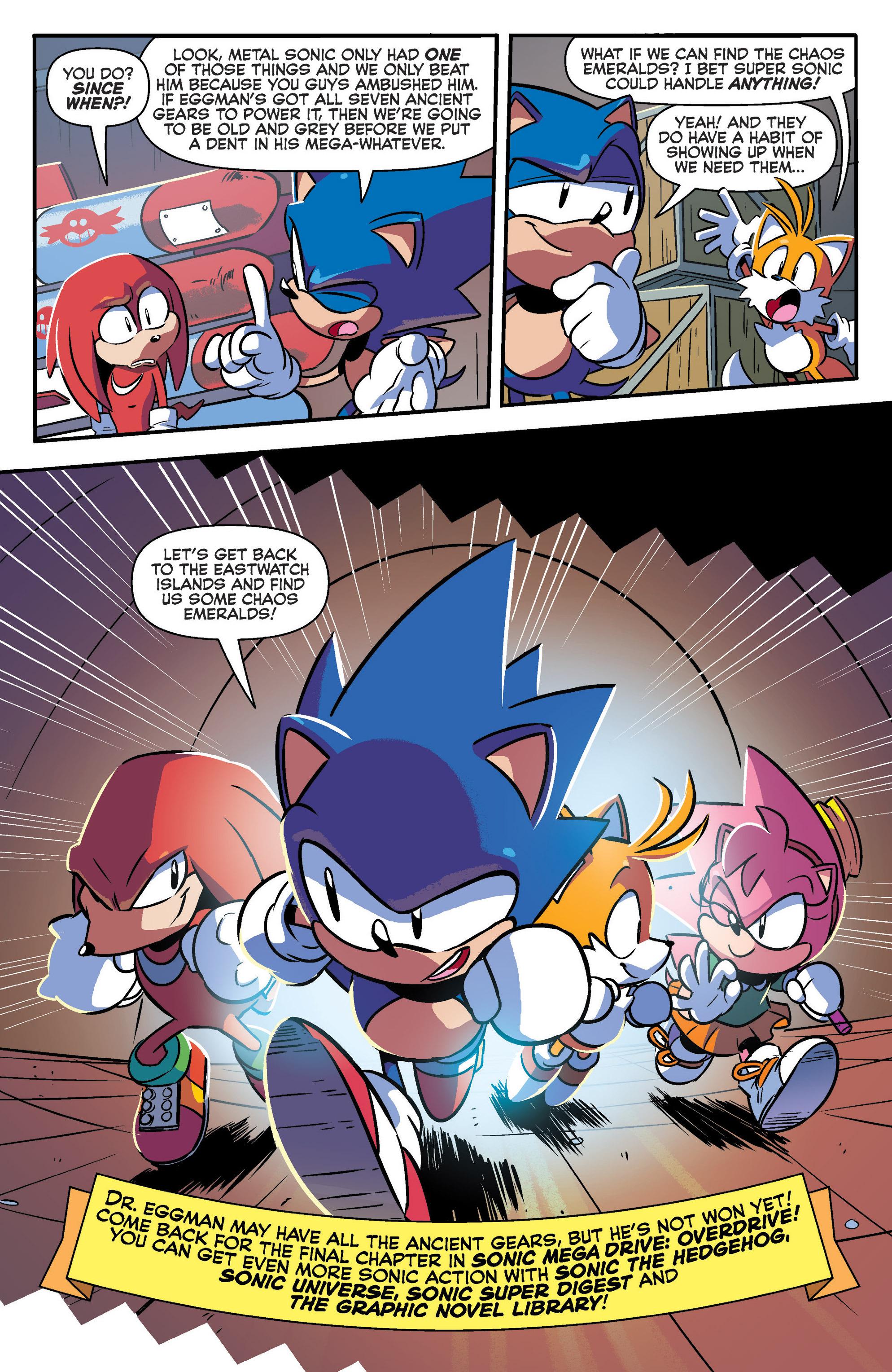Read online Sonic Mega Drive: Next Level comic -  Issue # Full - 32
