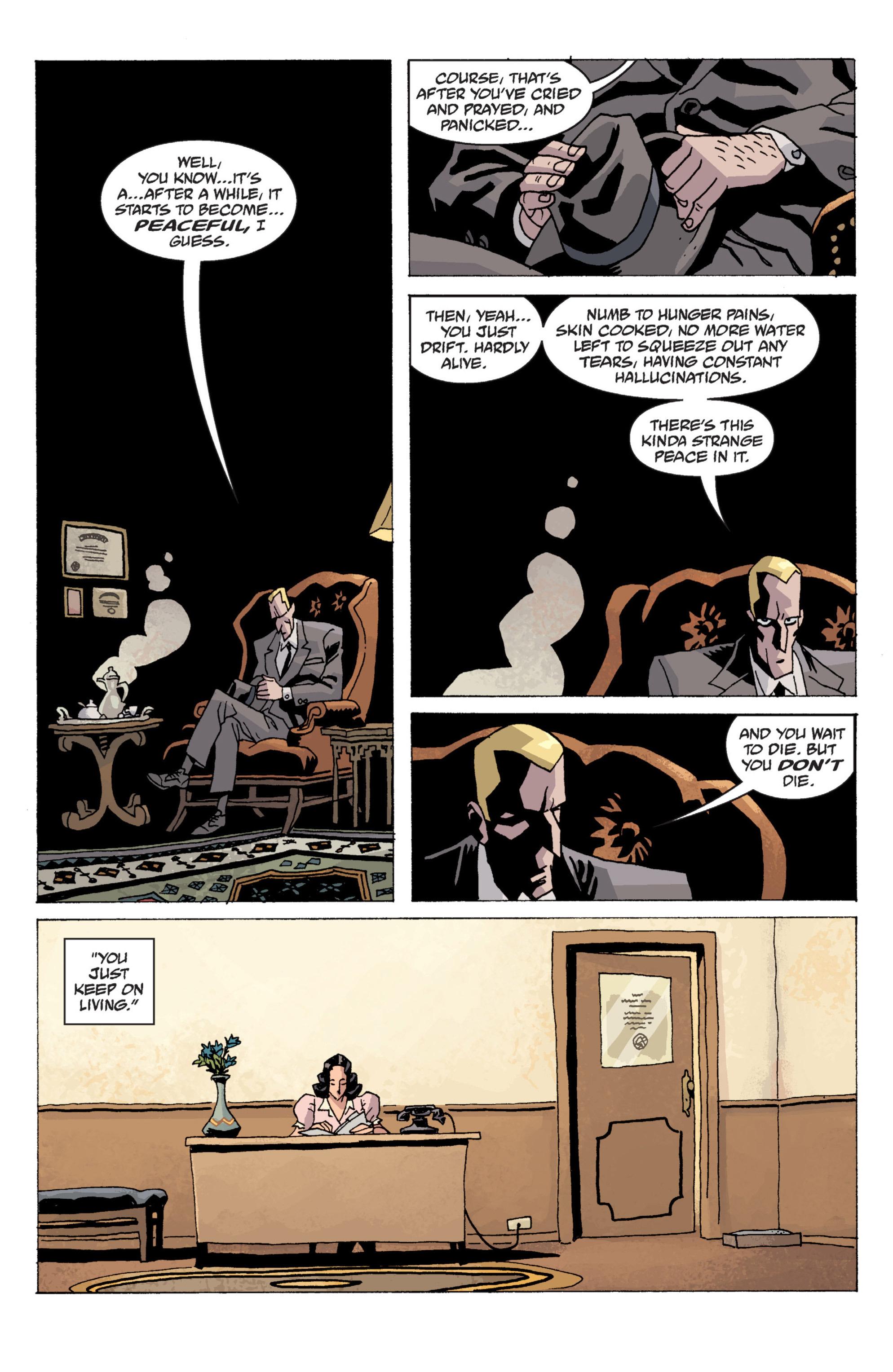 Read online B.P.R.D. (2003) comic -  Issue # TPB 13 - 87