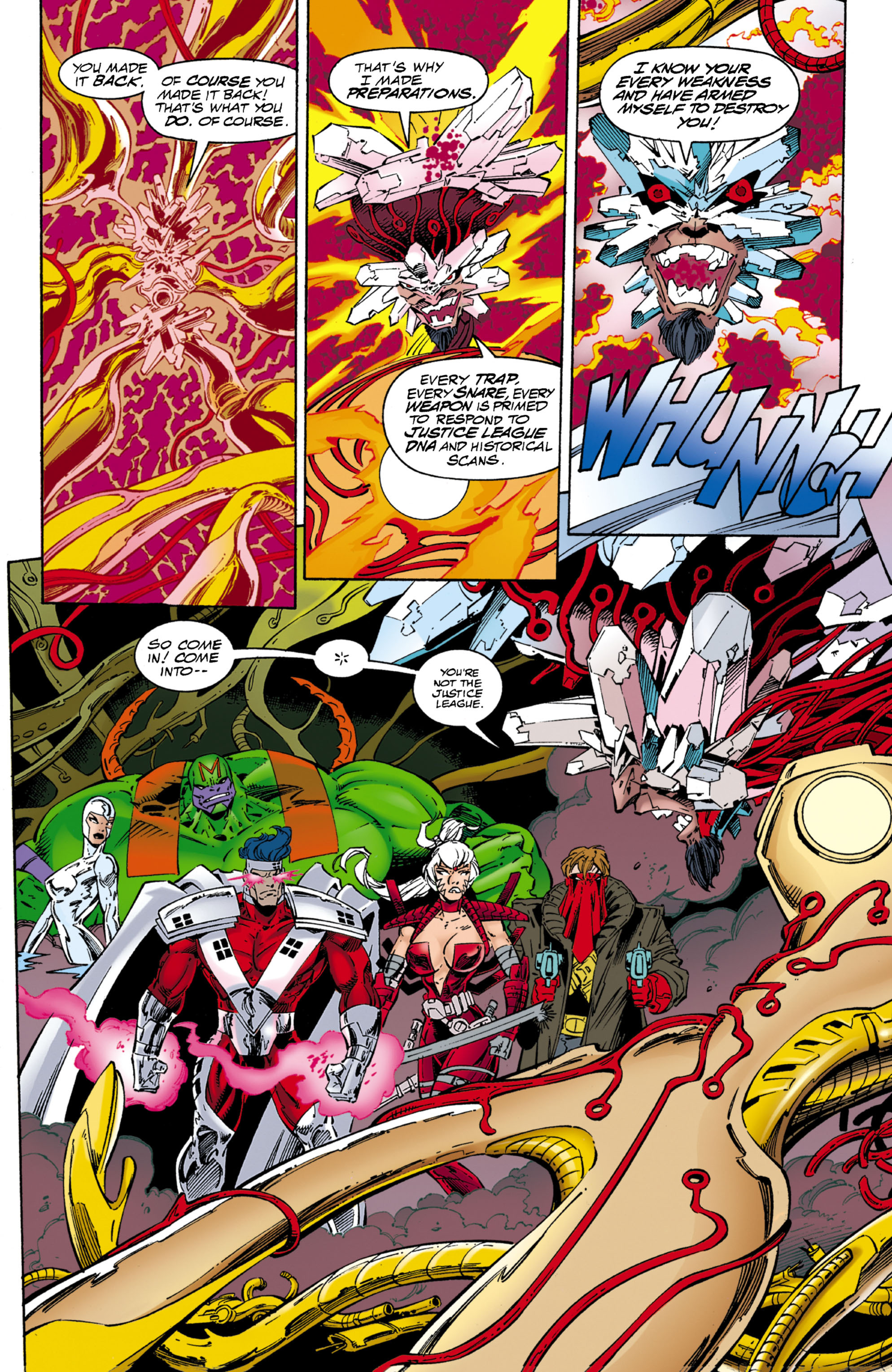 Read online JLA/WildC.A.T.s comic -  Issue # Full - 54
