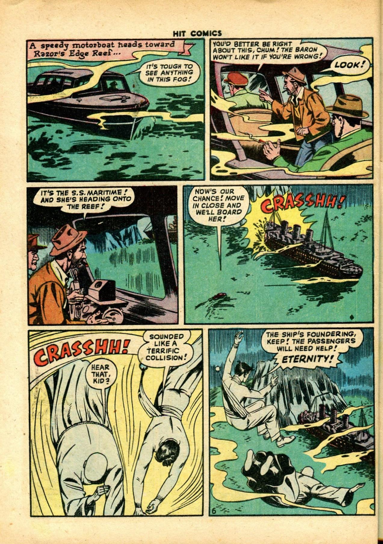 Read online Hit Comics comic -  Issue #59 - 8