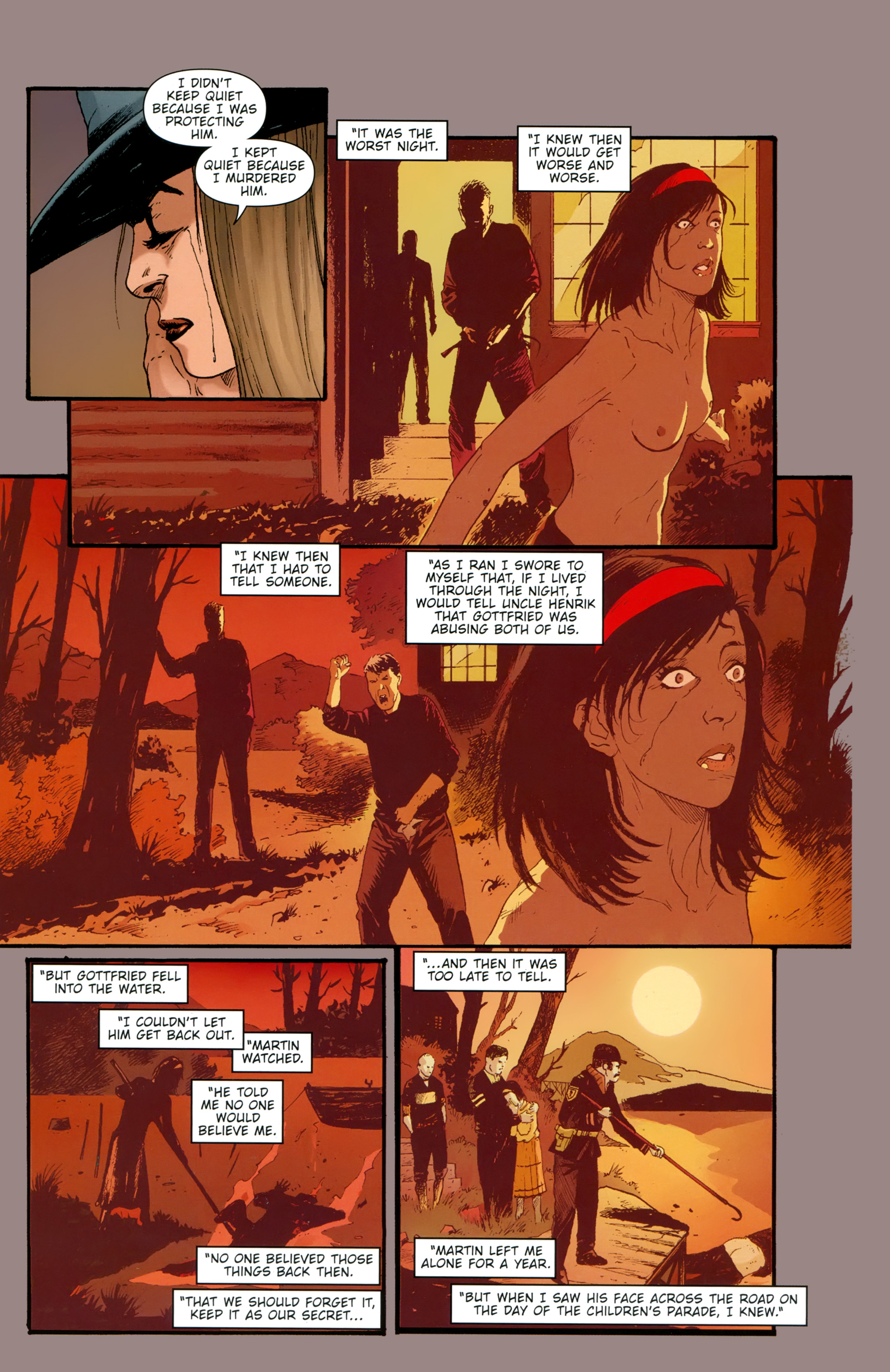 Read online The Girl With the Dragon Tattoo comic -  Issue # TPB 2 - 137