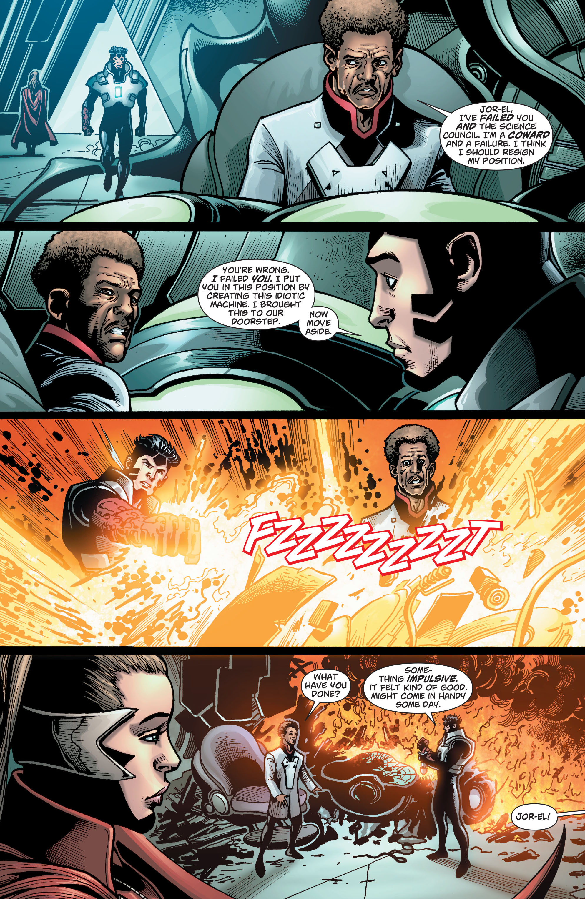 Read online Action Comics (2011) comic -  Issue #23 - 24