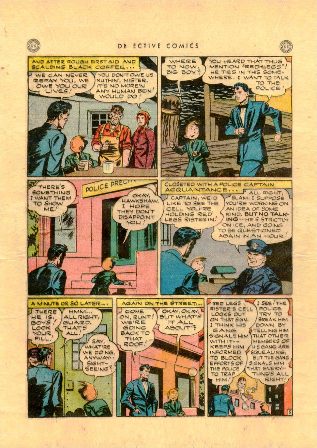 Read online Detective Comics (1937) comic -  Issue #92 - 28