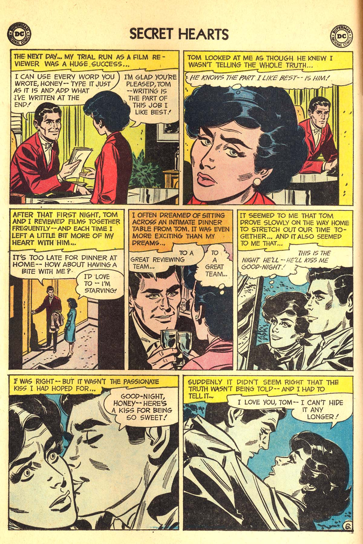 Read online Secret Hearts comic -  Issue #89 - 8
