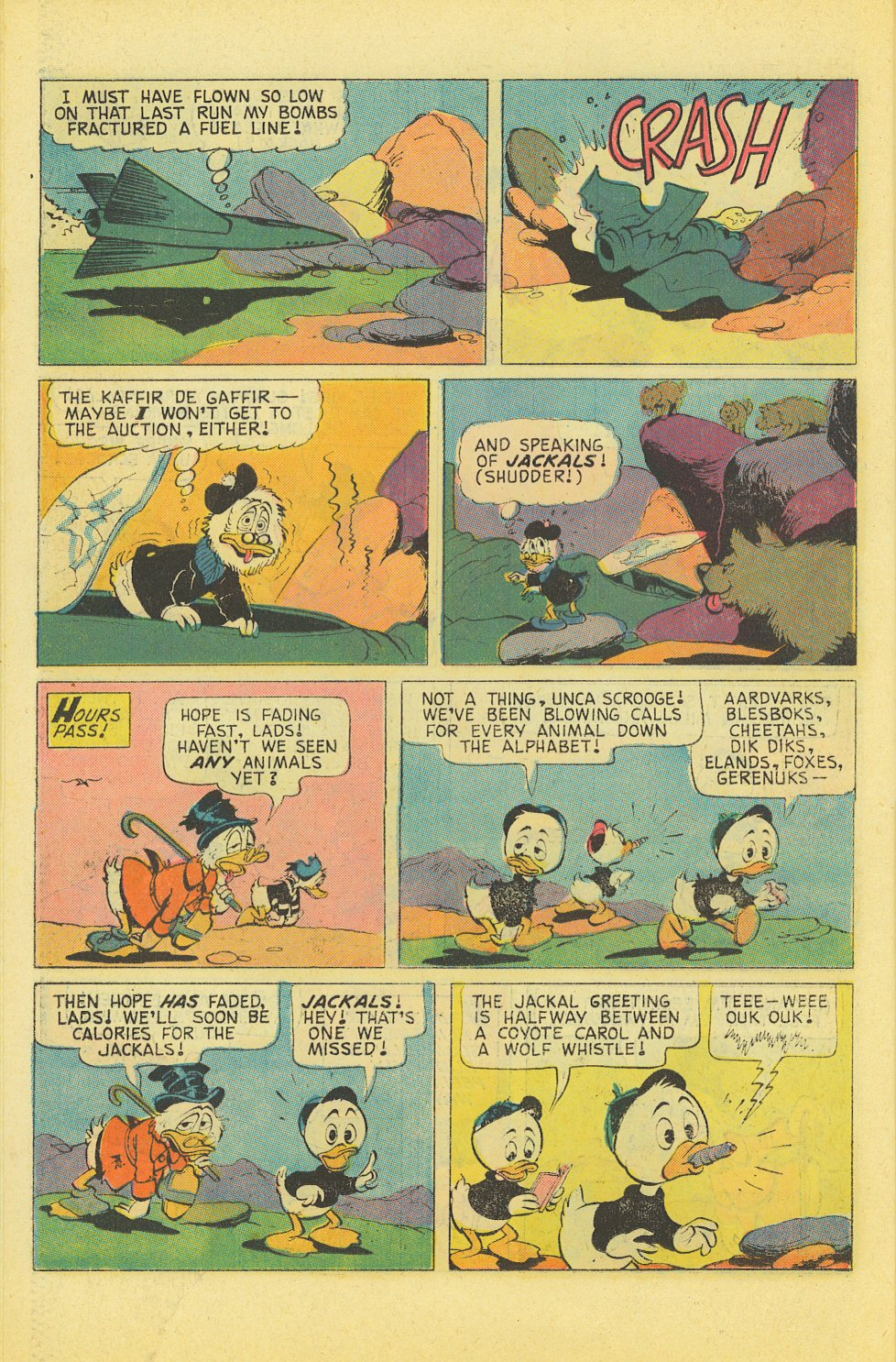 Read online Uncle Scrooge (1953) comic -  Issue #127 - 26