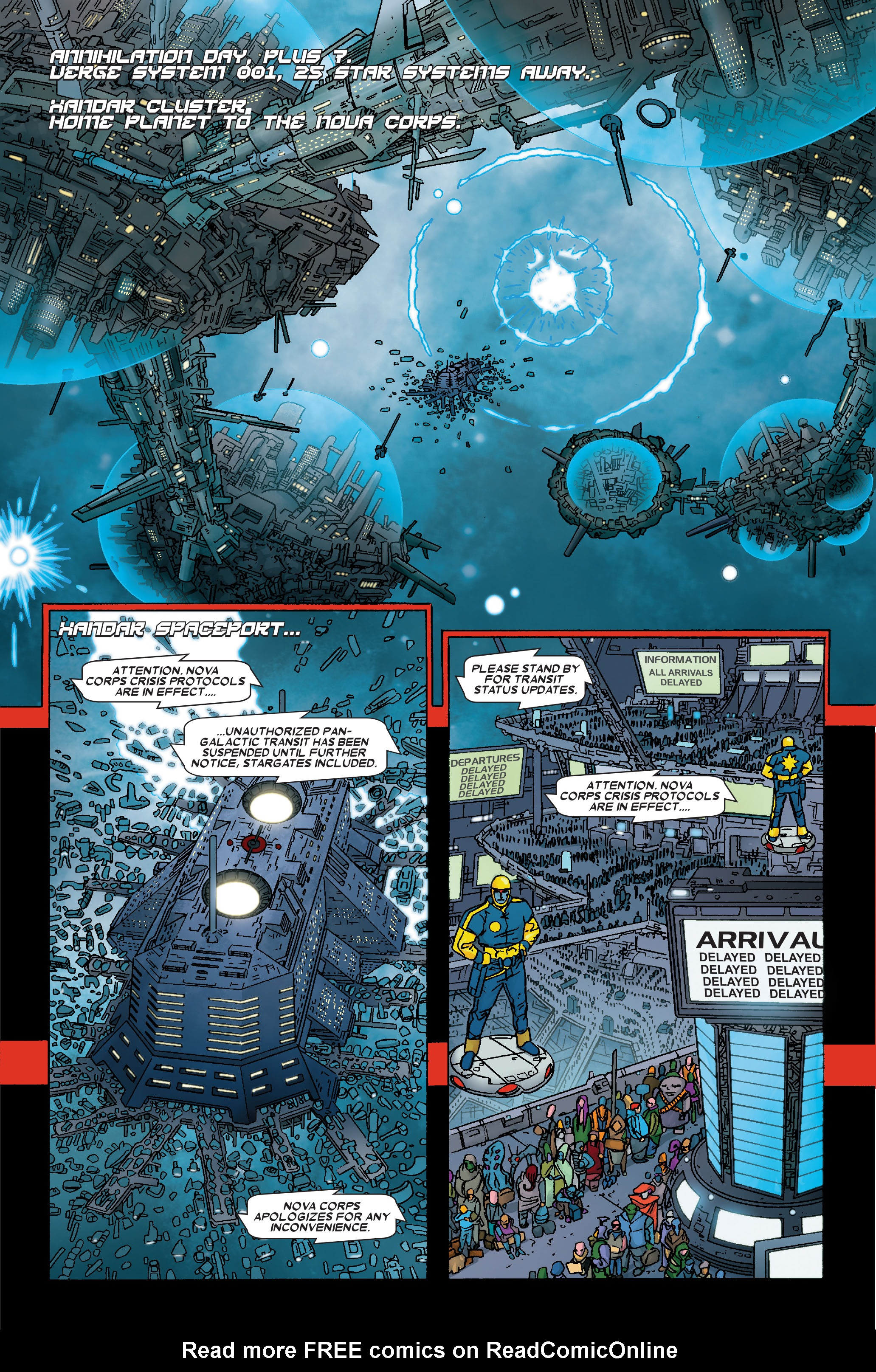 Read online Annihilation: Prologue comic -  Issue #Annihilation: Prologue Full - 9